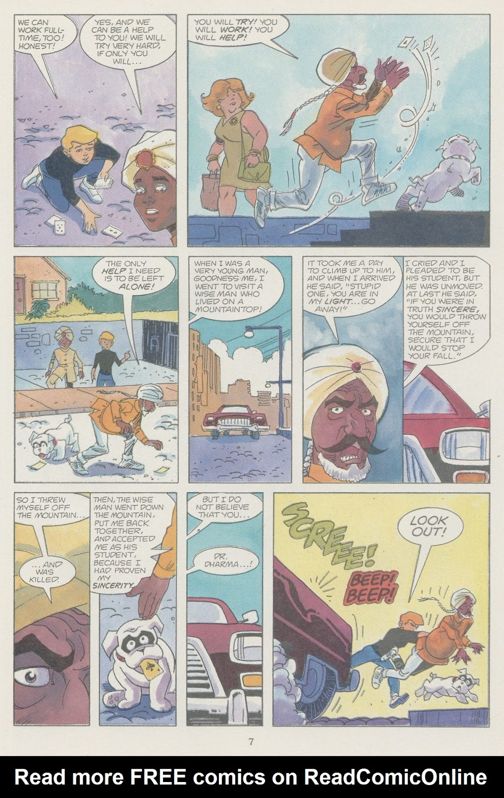 Jonny Quest (1986) issue 19 - Page 9