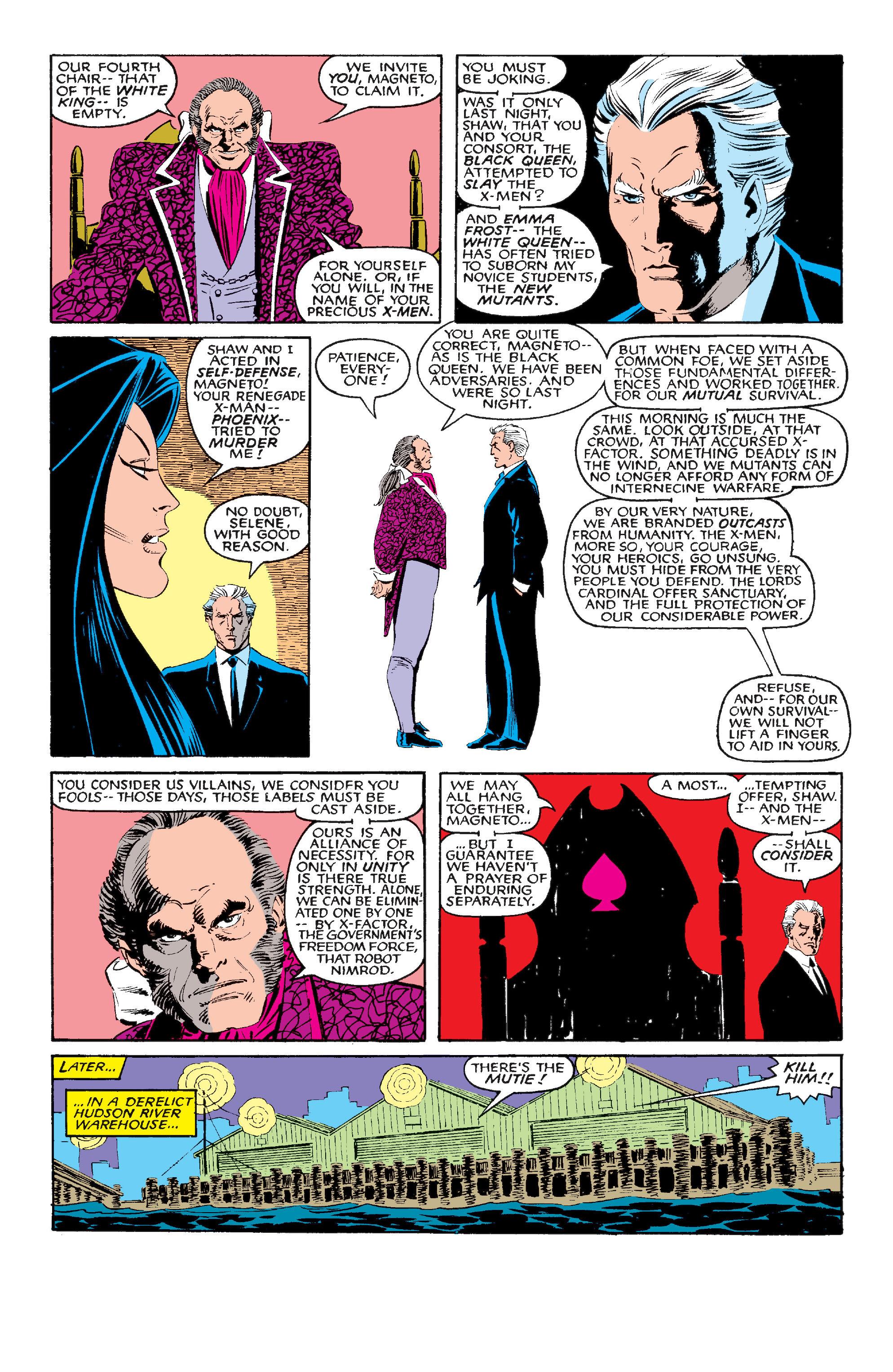 Read online Uncanny X-Men (1963) comic -  Issue #210 - 18