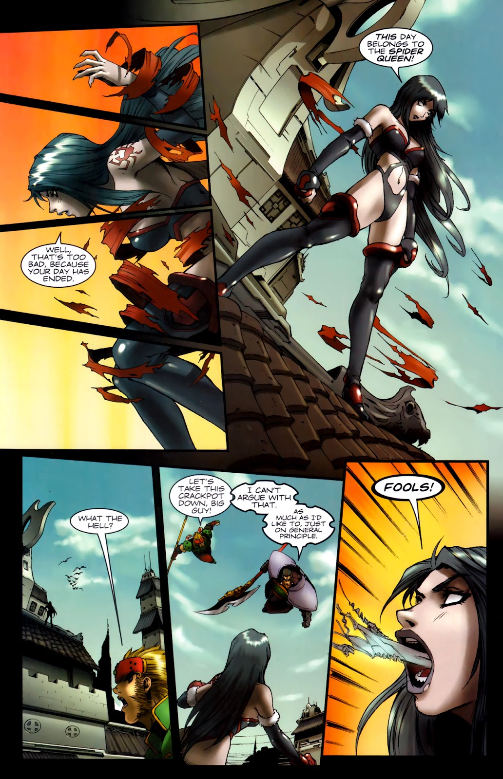 Read online Xin: Journey of the Monkey King comic -  Issue #2 - 21