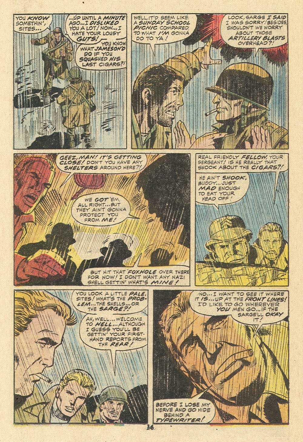 Read online Sgt. Fury comic -  Issue #110 - 16