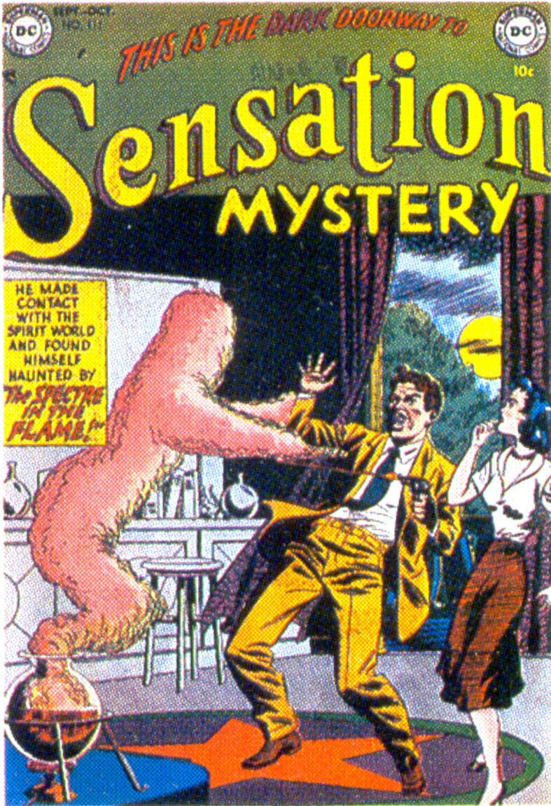 Read online Sensation (Mystery) Comics comic -  Issue #111 - 1