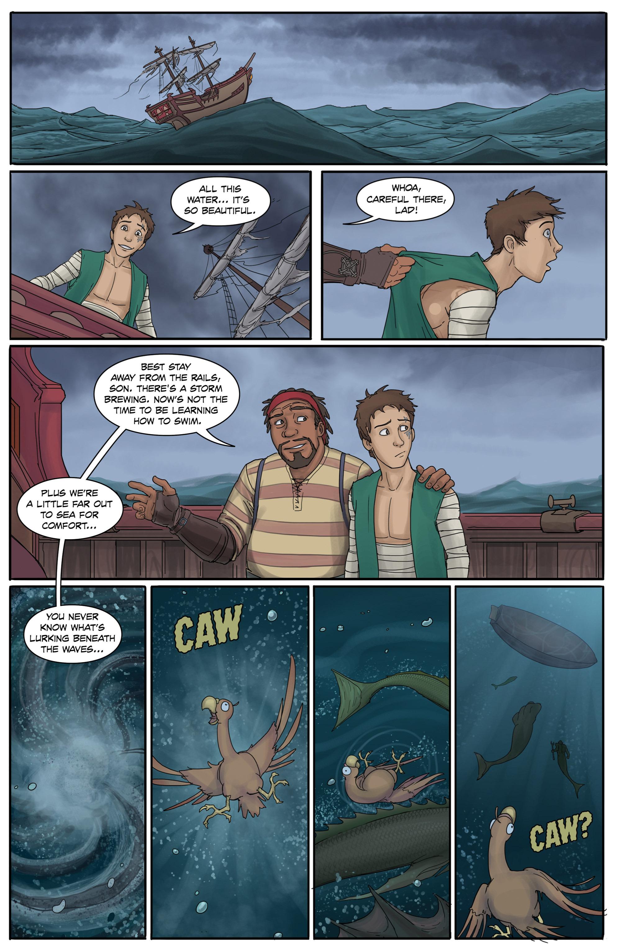 Read online Anne Bonnie comic -  Issue #3 - 9
