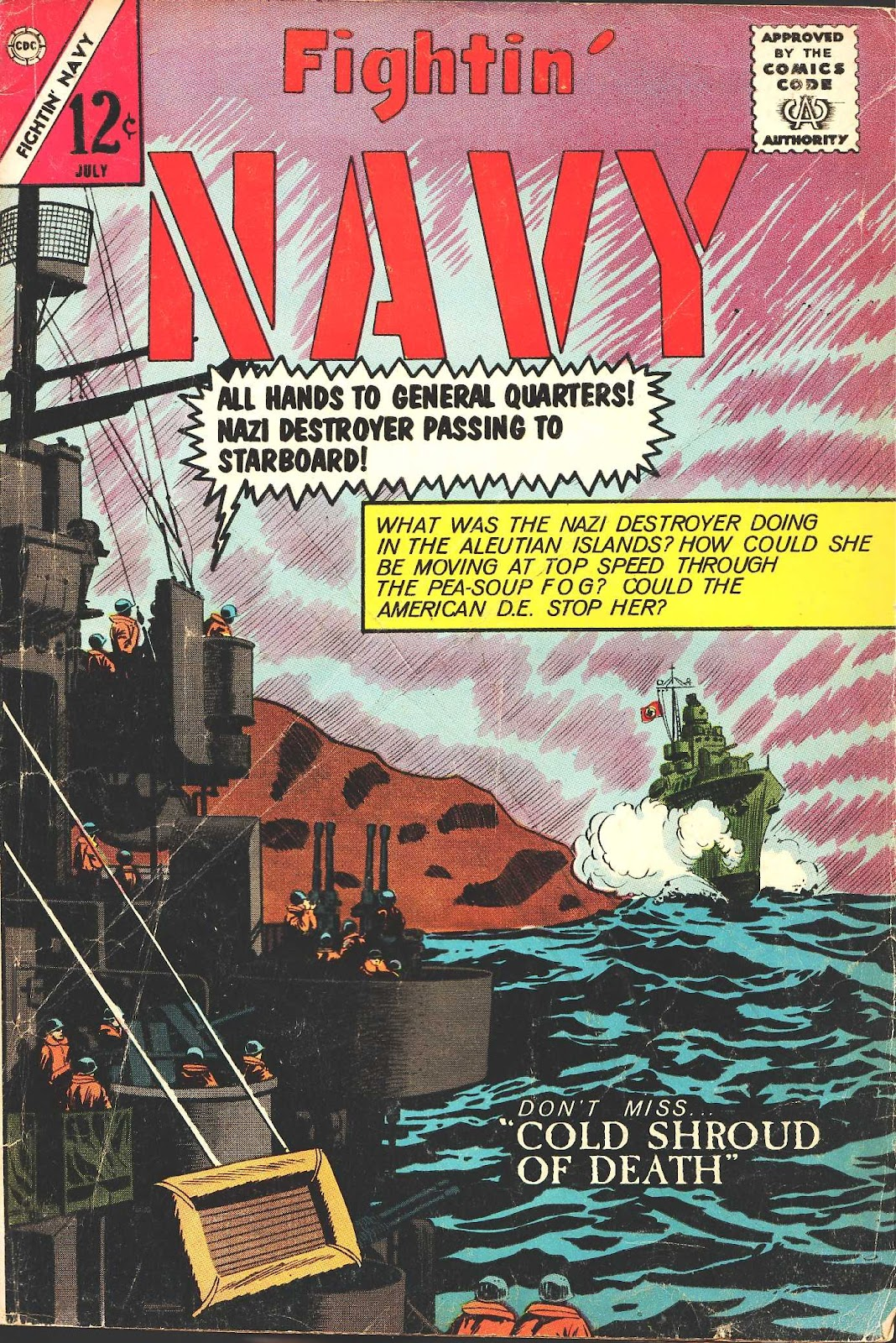 Read online Fightin' Navy comic -  Issue #116 - 1