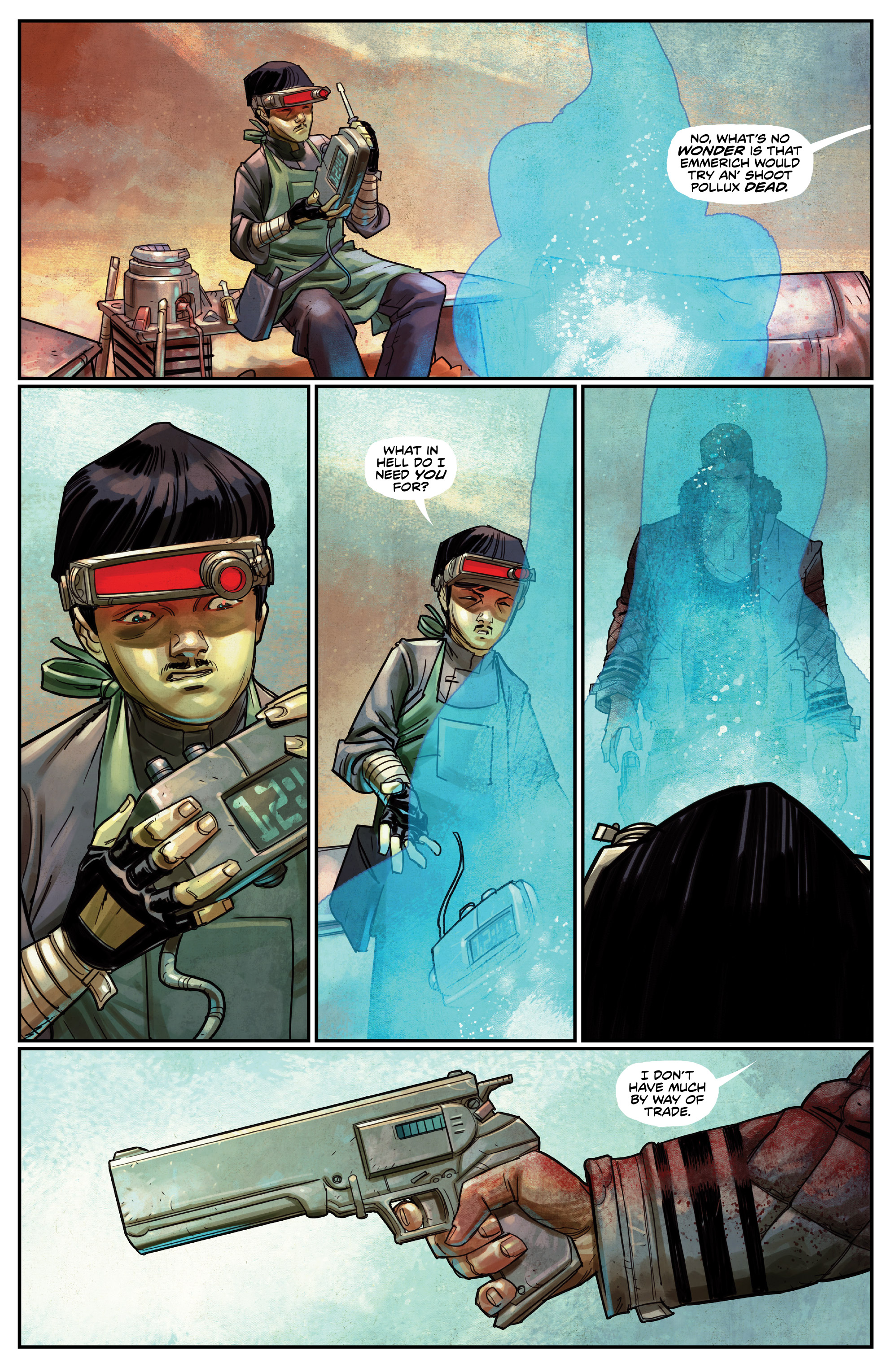 Read online Drifter (2014) comic -  Issue #19 - 12