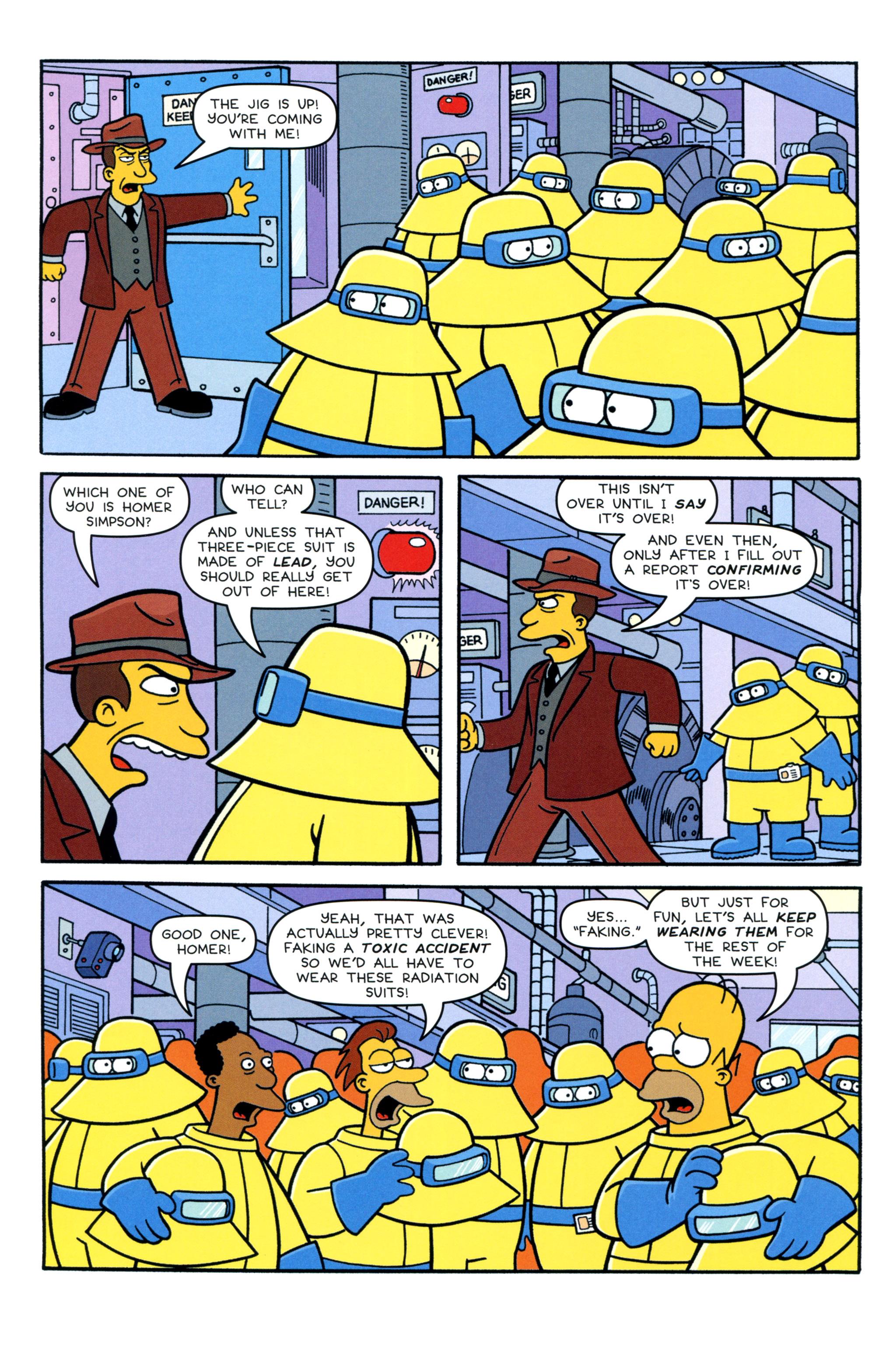 Read online Simpsons Comics comic -  Issue #213 - 6