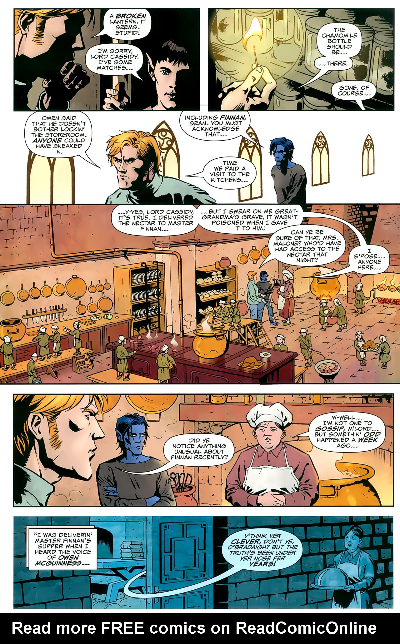 Read online Uncanny X-Men: First Class comic -  Issue #8 - 9