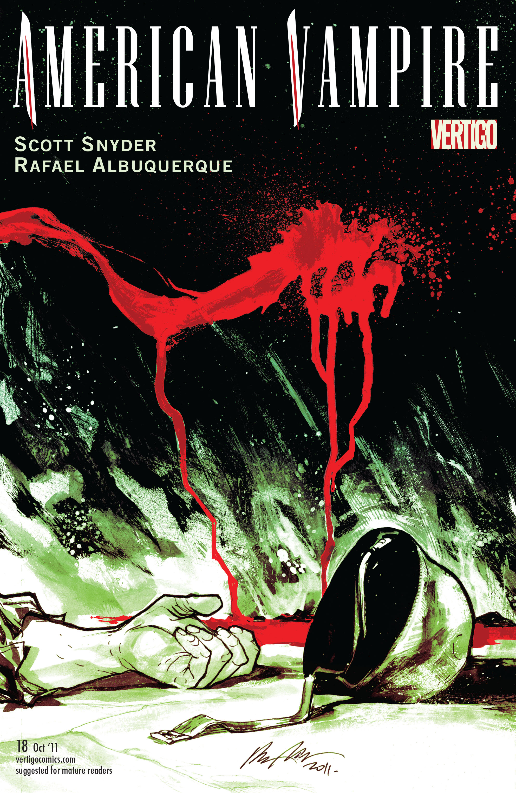 Read online American Vampire comic -  Issue #18 - 1