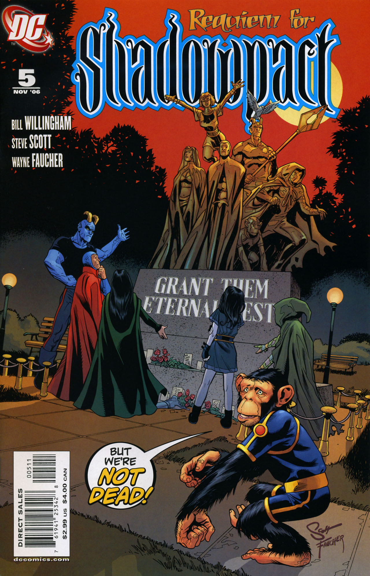 Read online Shadowpact comic -  Issue #5 - 1