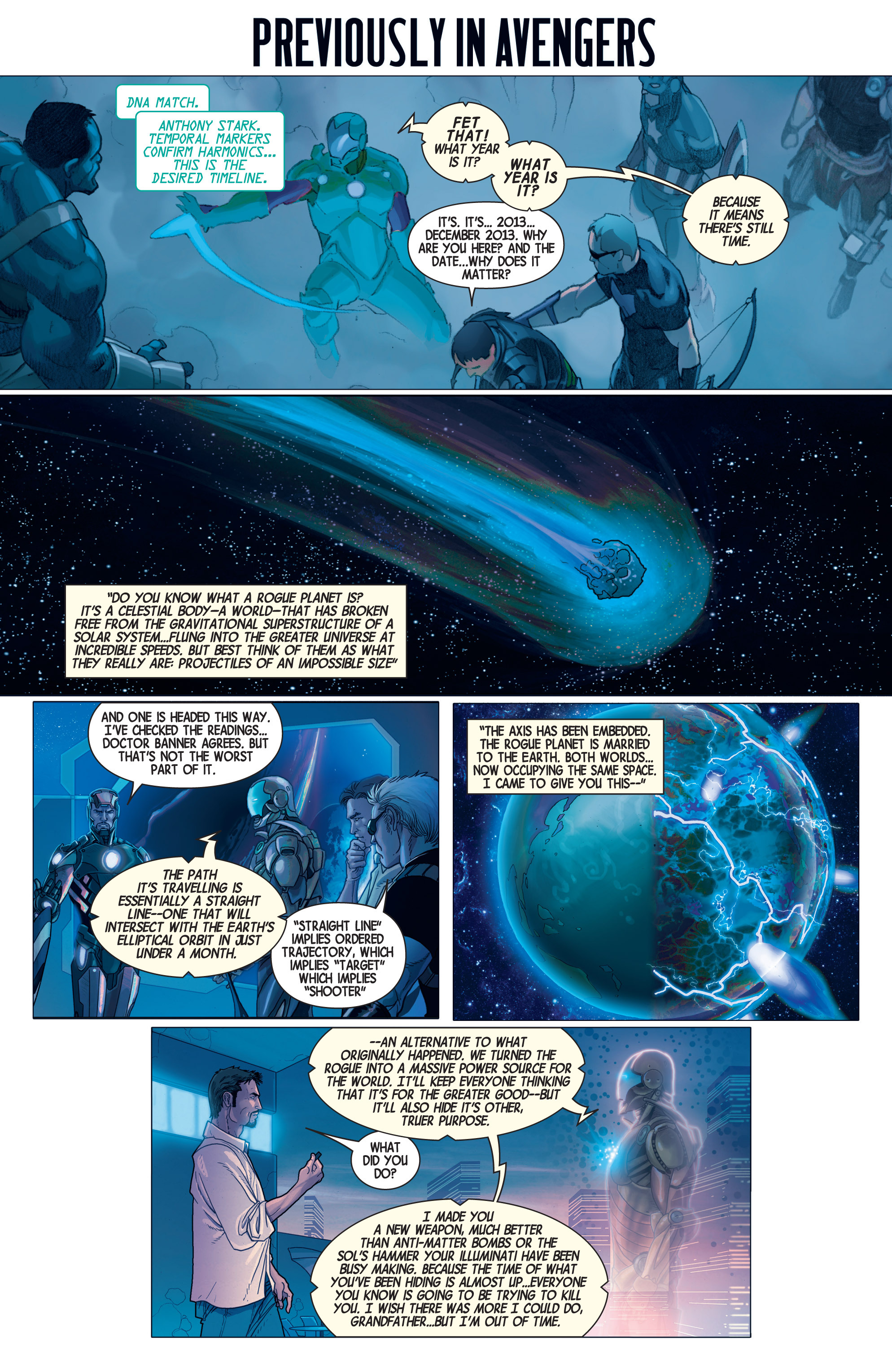 Read online Avengers (2013) comic -  Issue #25 - 2