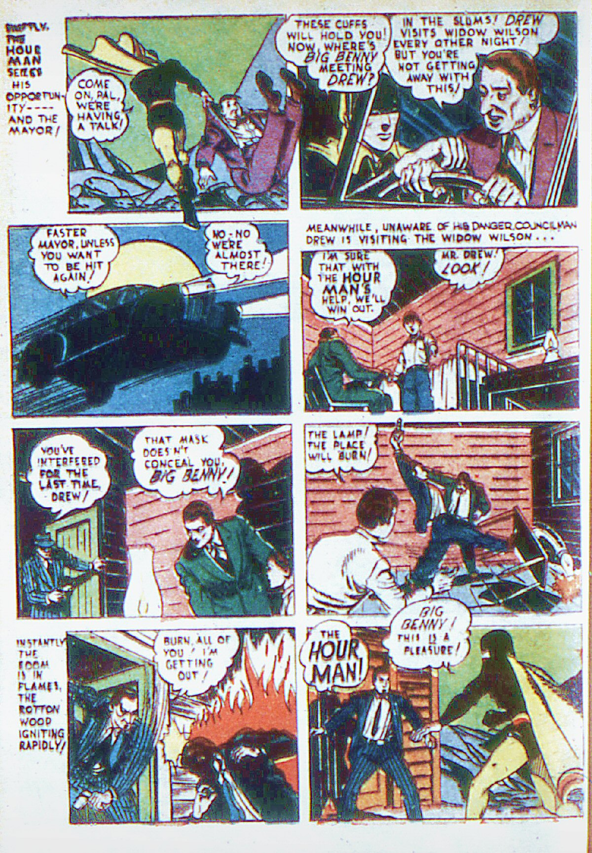 Read online Adventure Comics (1938) comic -  Issue #66 - 37