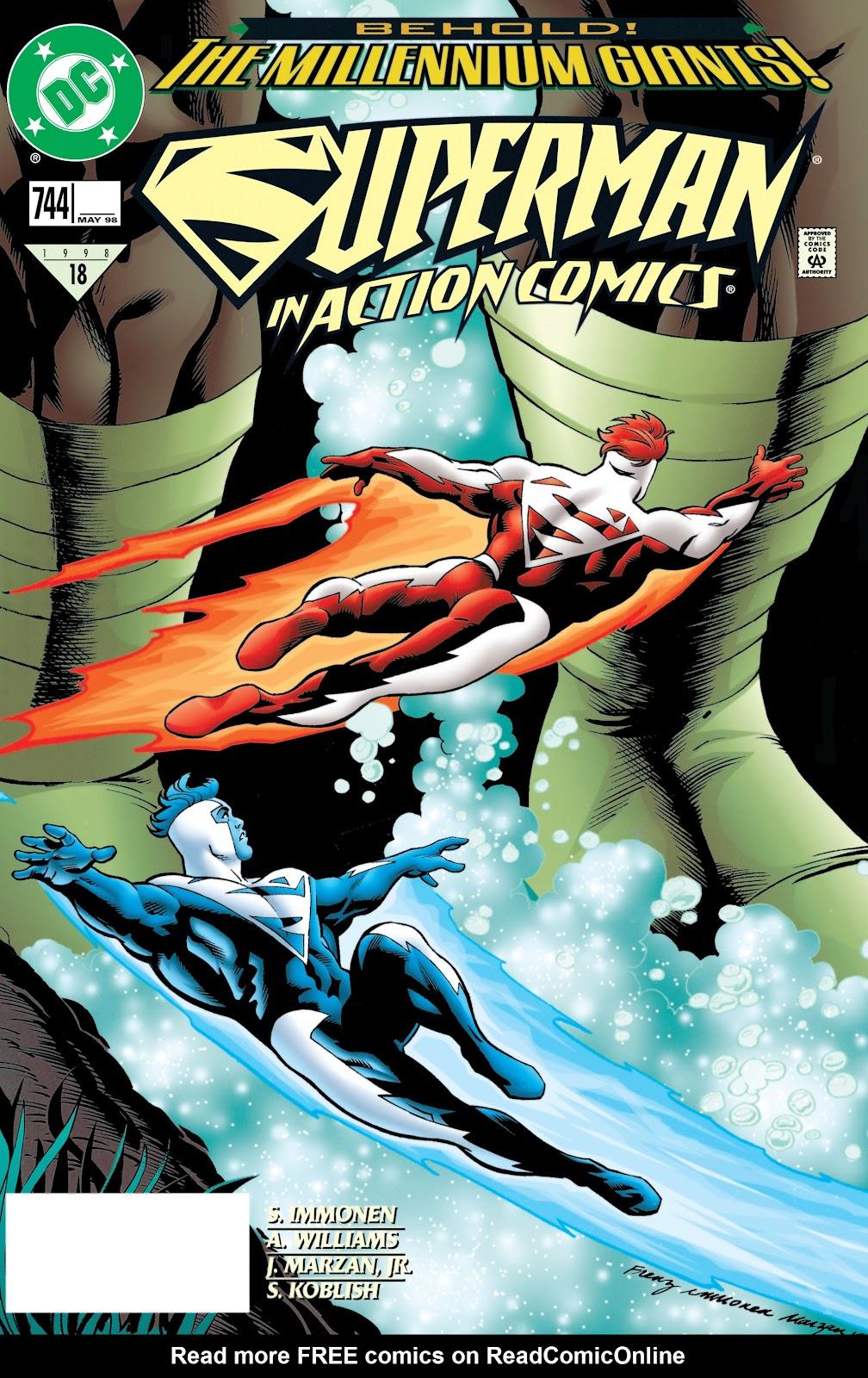 Action Comics (1938) 744 Page 1