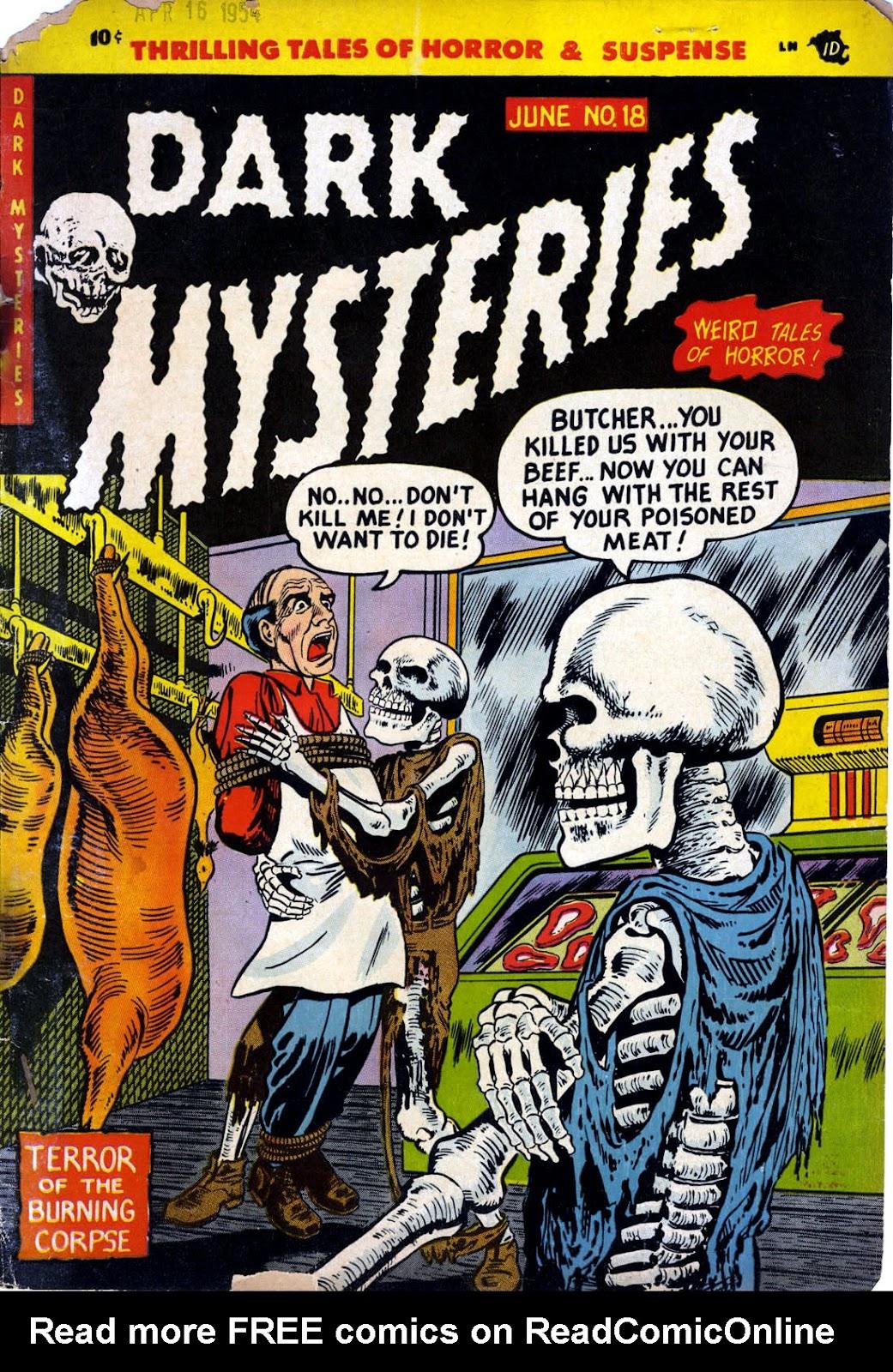 Dark Mysteries issue 18 - Page 1