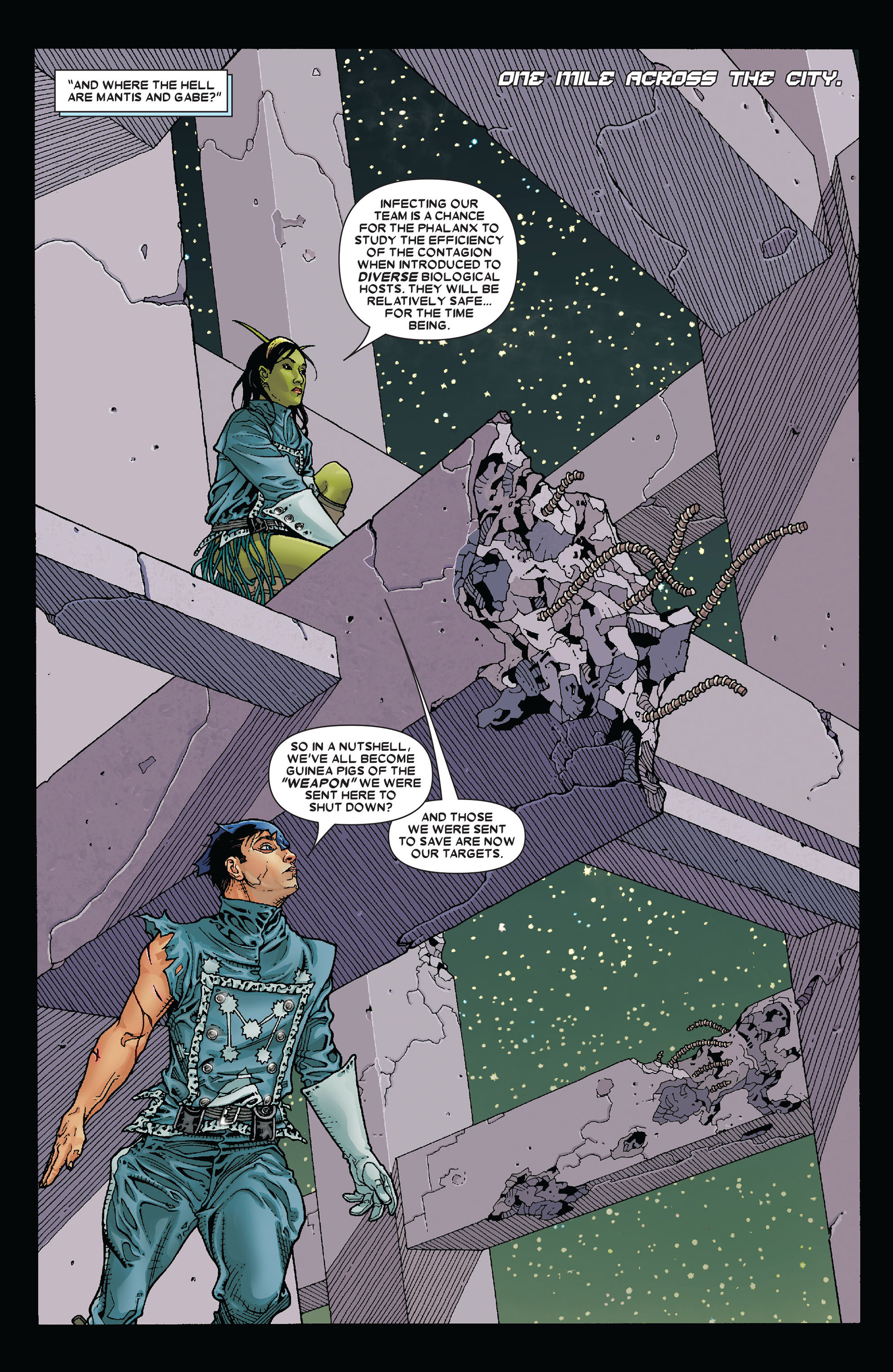 Read online Annihilation: Conquest - Starlord comic -  Issue #4 - 3