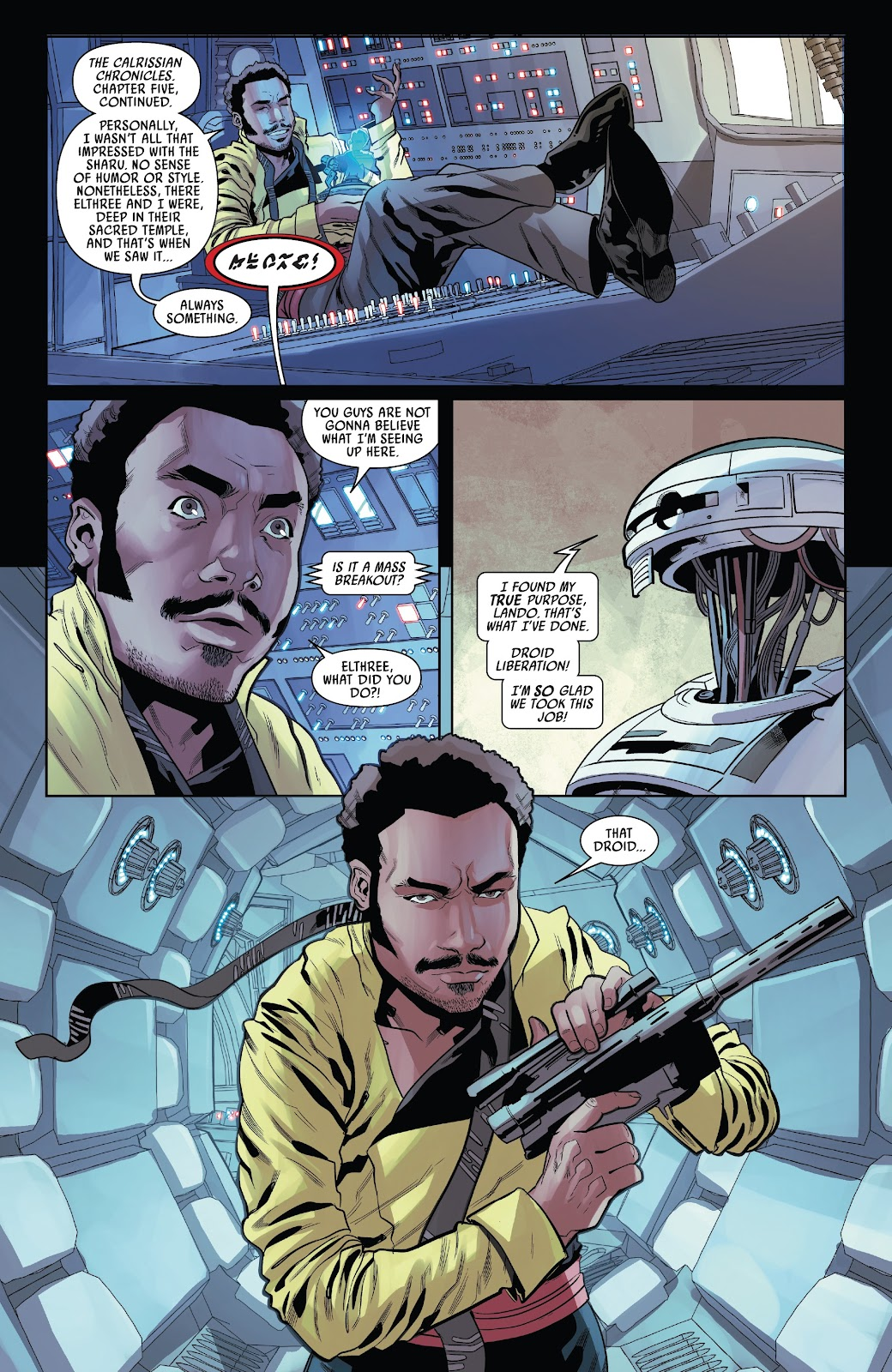 Read online Solo: A Star Wars Story Adaptation comic -  Issue #4 - 15
