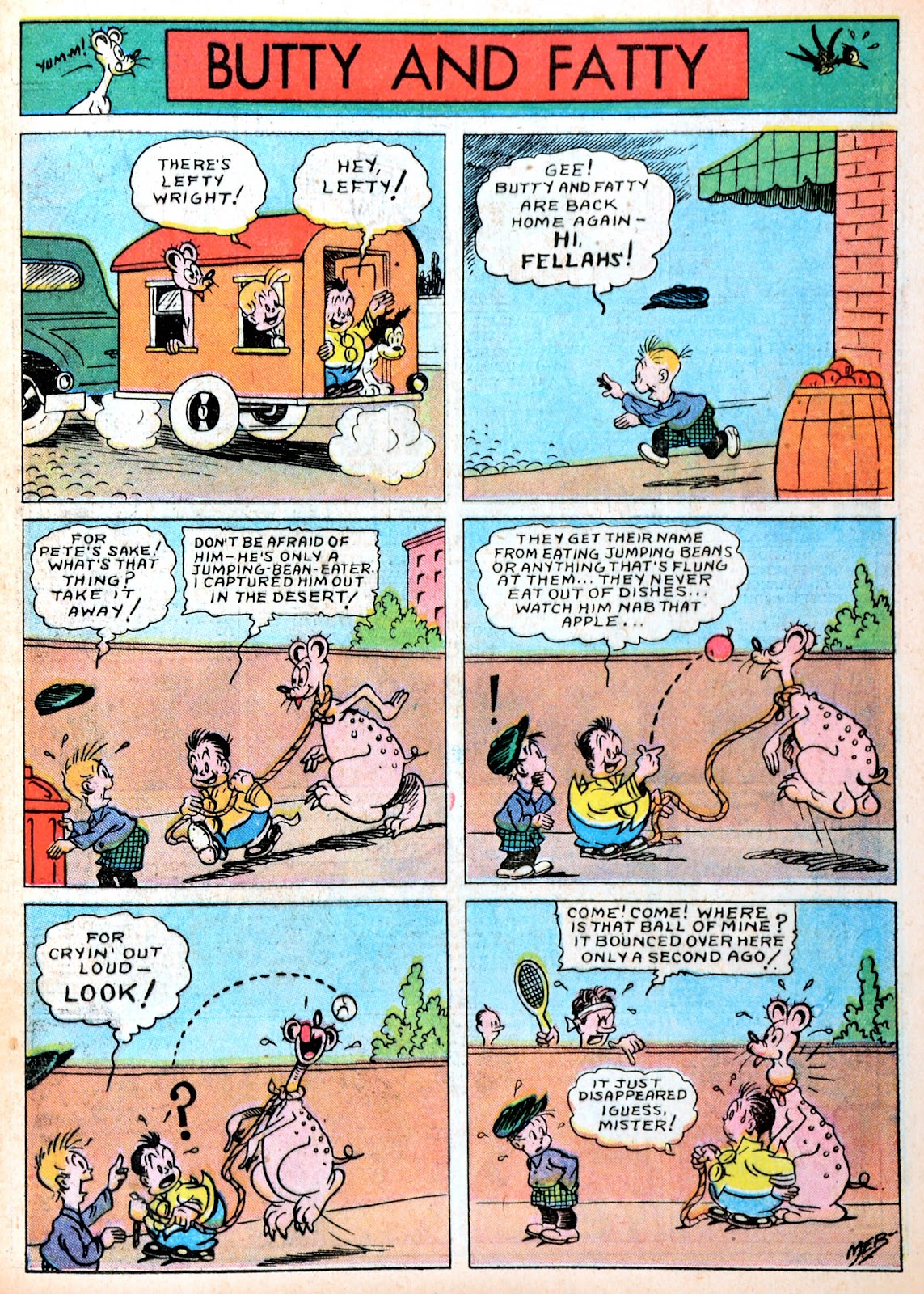 Read online Famous Funnies comic -  Issue #13 - 25