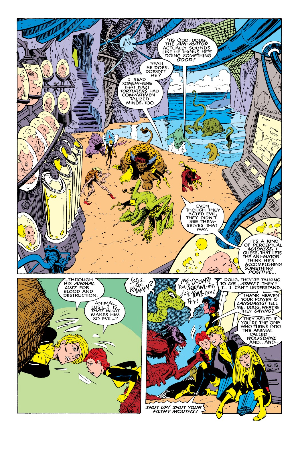 Read online X-Men Milestones: Fall of the Mutants comic -  Issue # TPB (Part 2) - 22