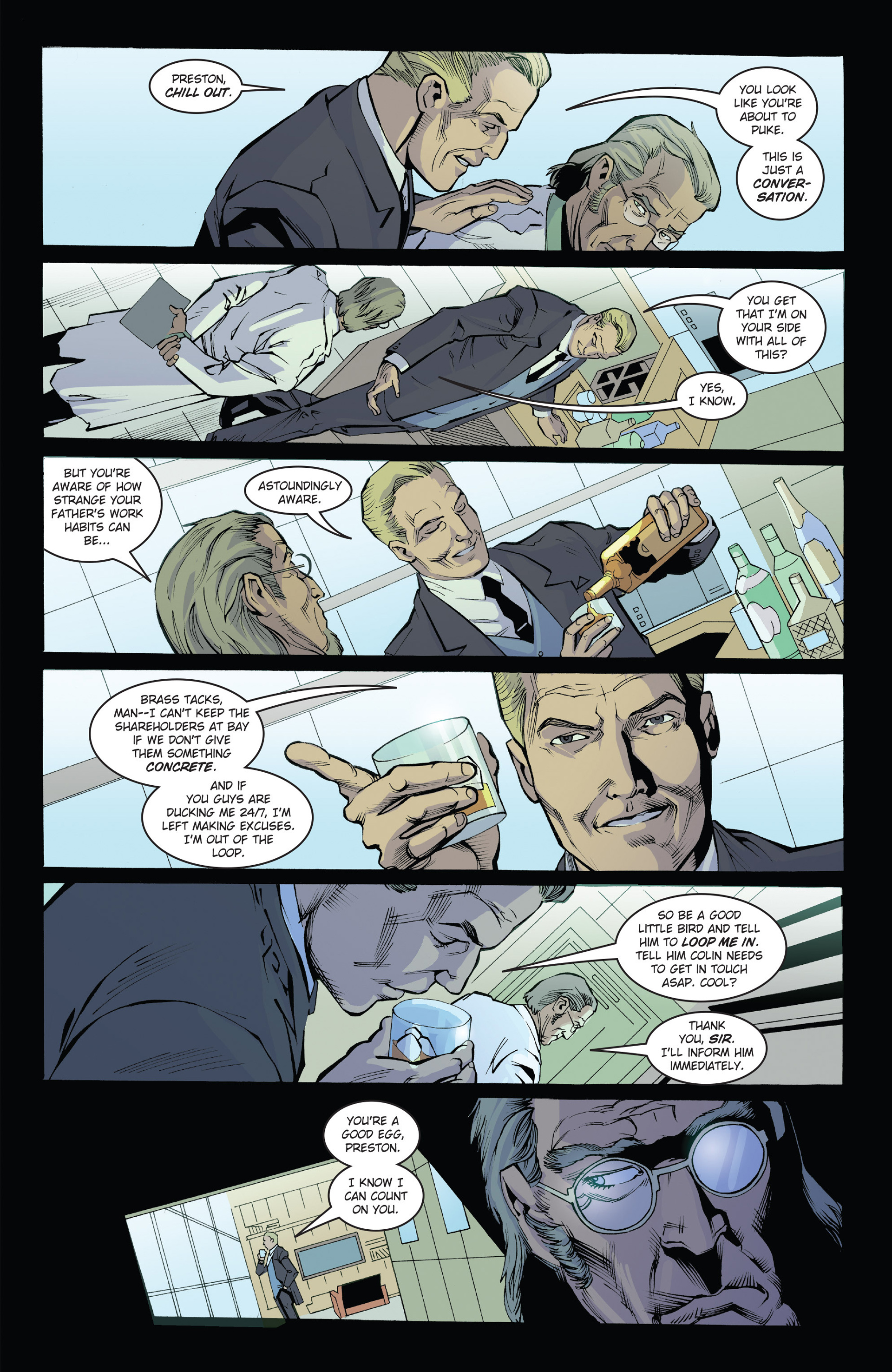 Read online Solar: Man of the Atom (2014) comic -  Issue #1 - 15