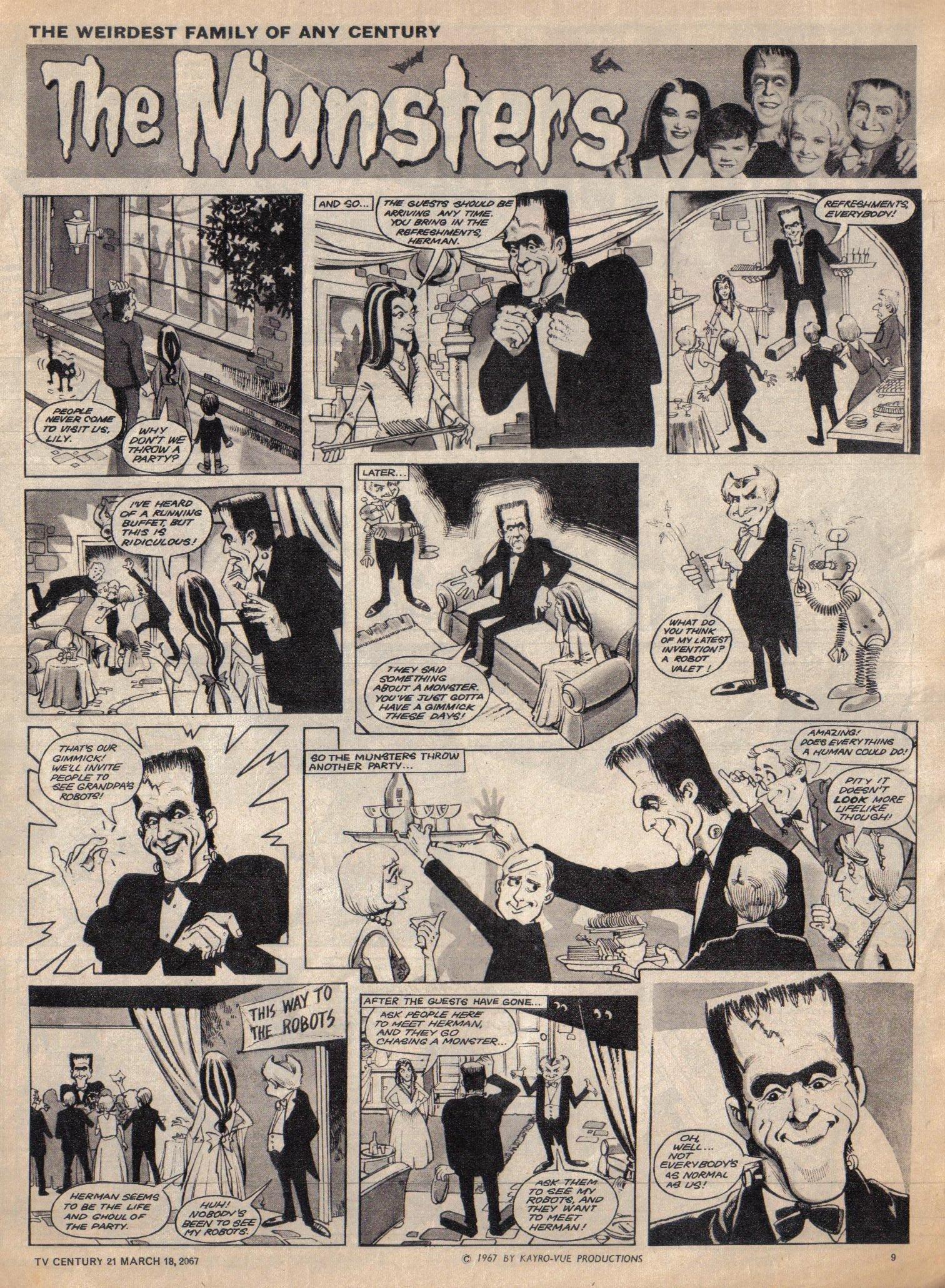 Read online TV Century 21 (TV 21) comic -  Issue #113 - 9