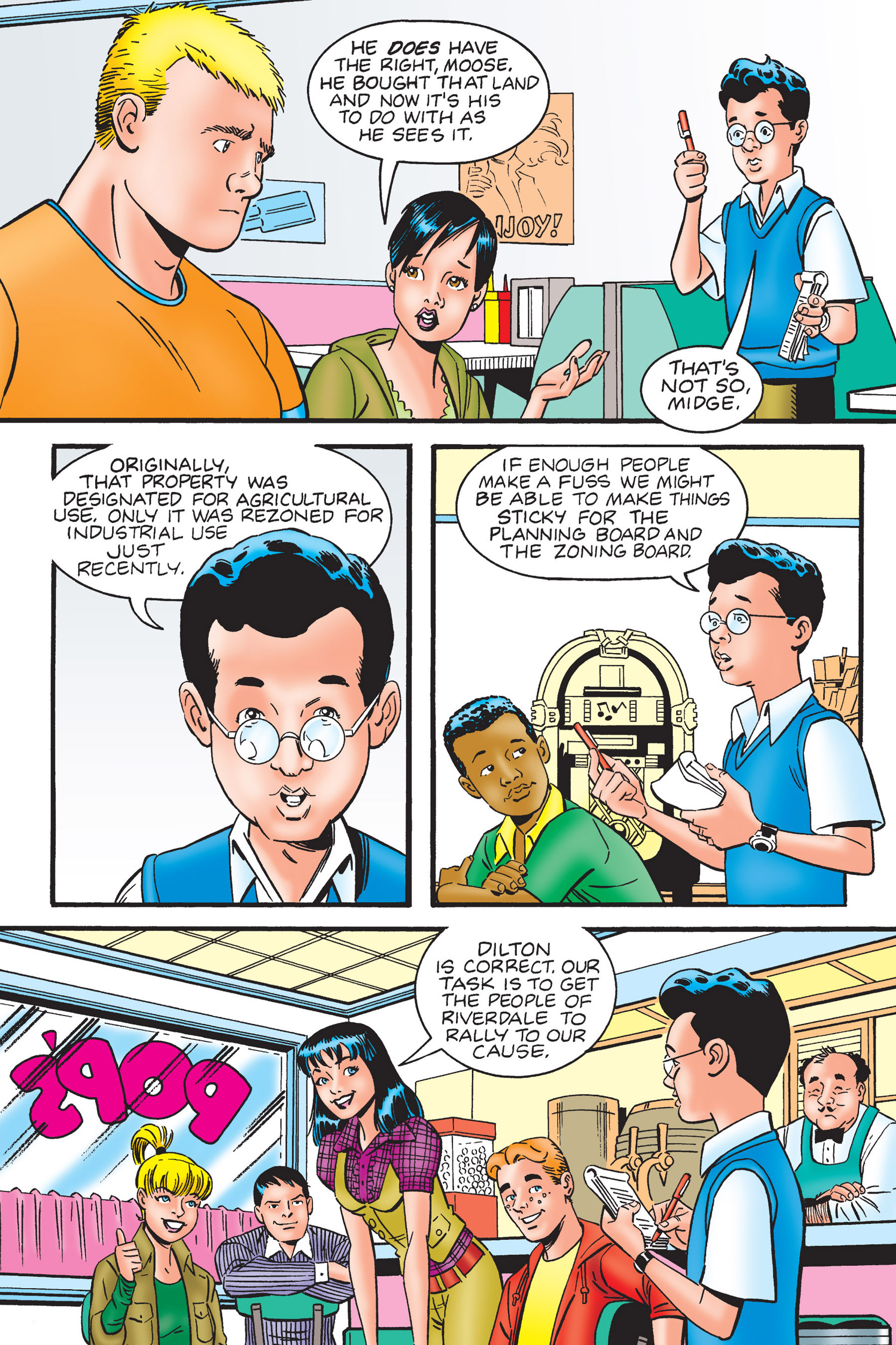 Read online Archie's New Look Series comic -  Issue #4 - 32