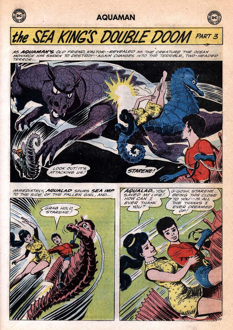 Read online Aquaman (1962) comic -  Issue #20 - 27
