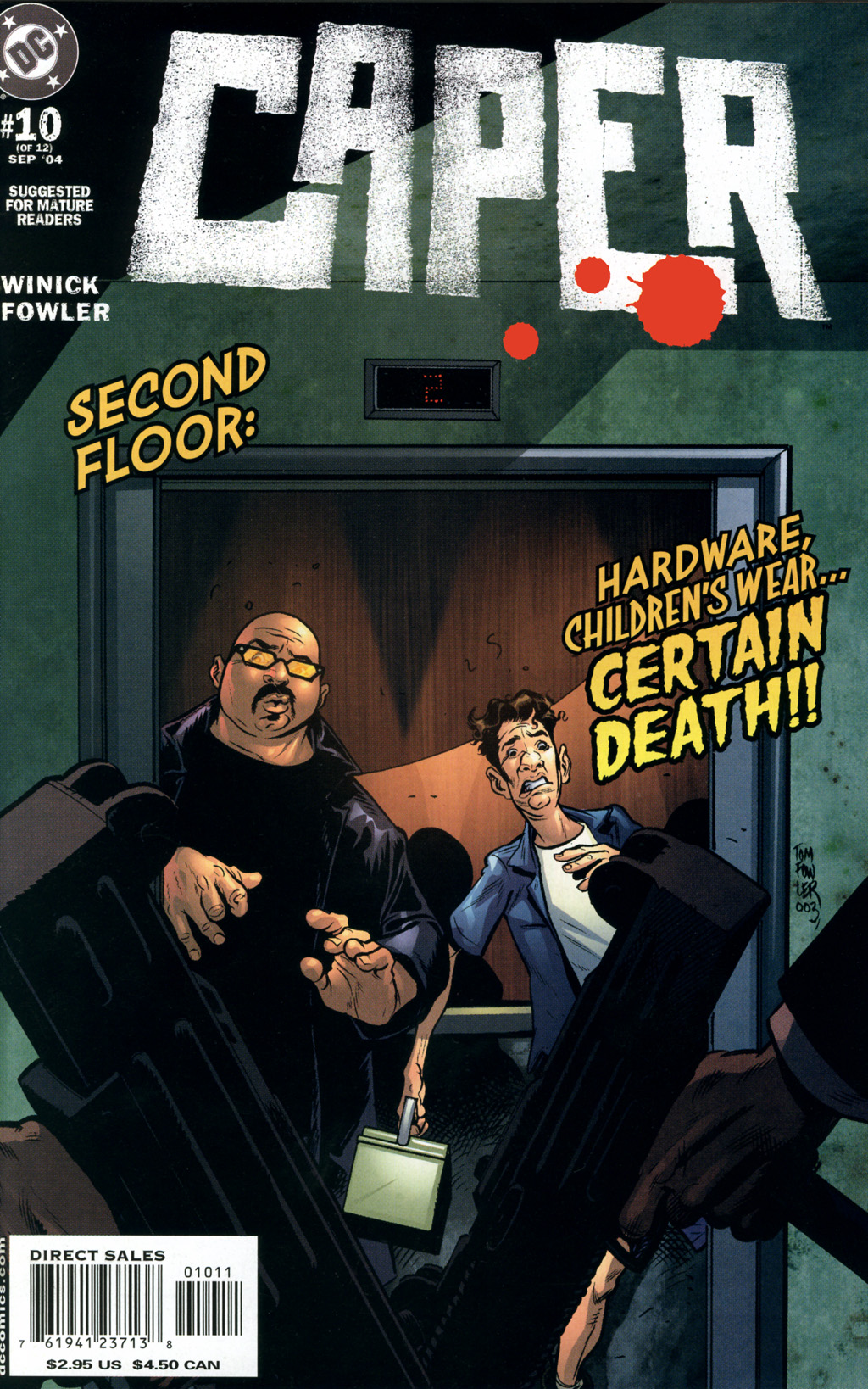 Read online Caper comic -  Issue #10 - 1