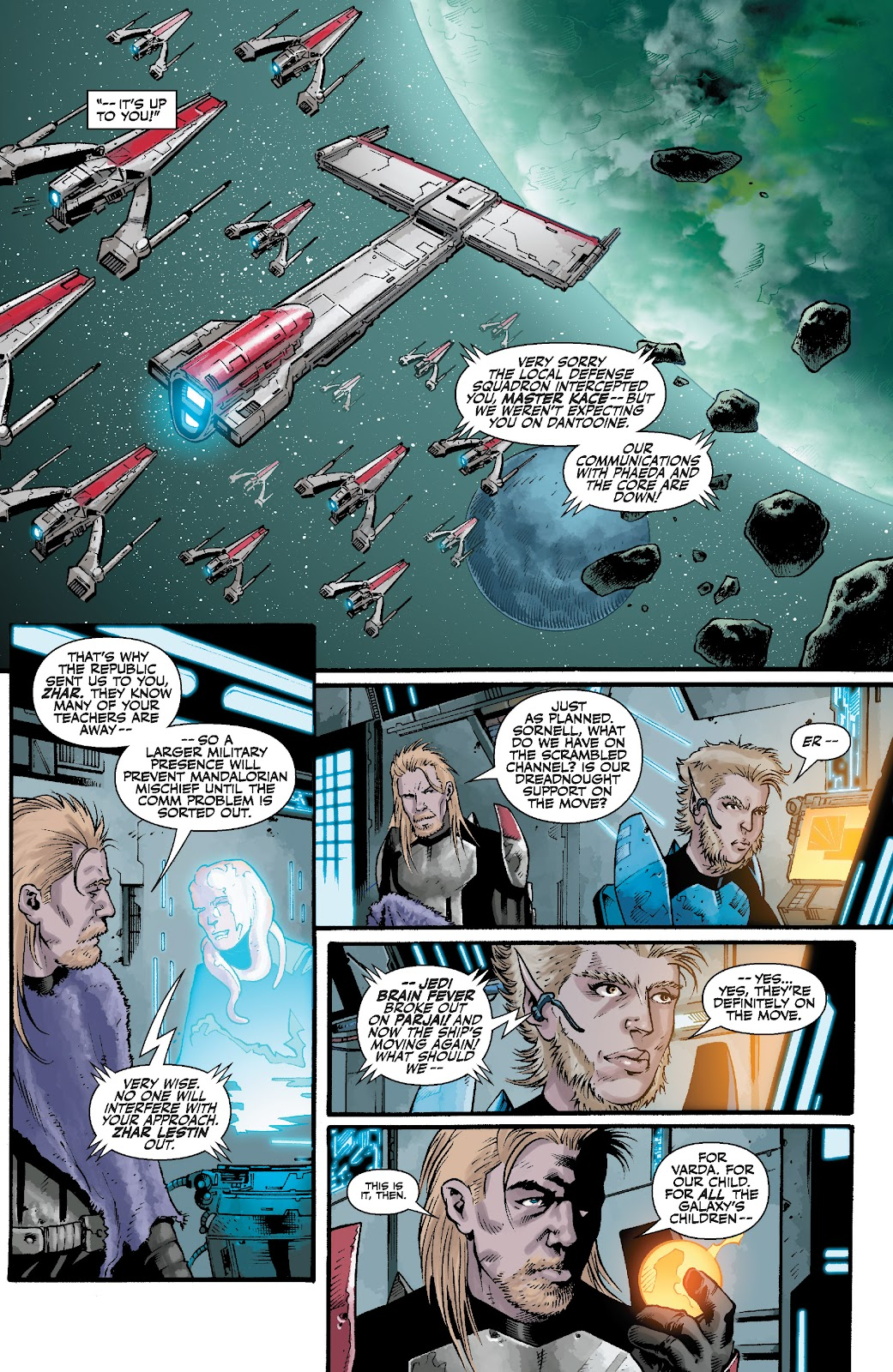 Read online Star Wars Legends: The Old Republic - Epic Collection comic -  Issue # TPB 3 (Part 4) - 93