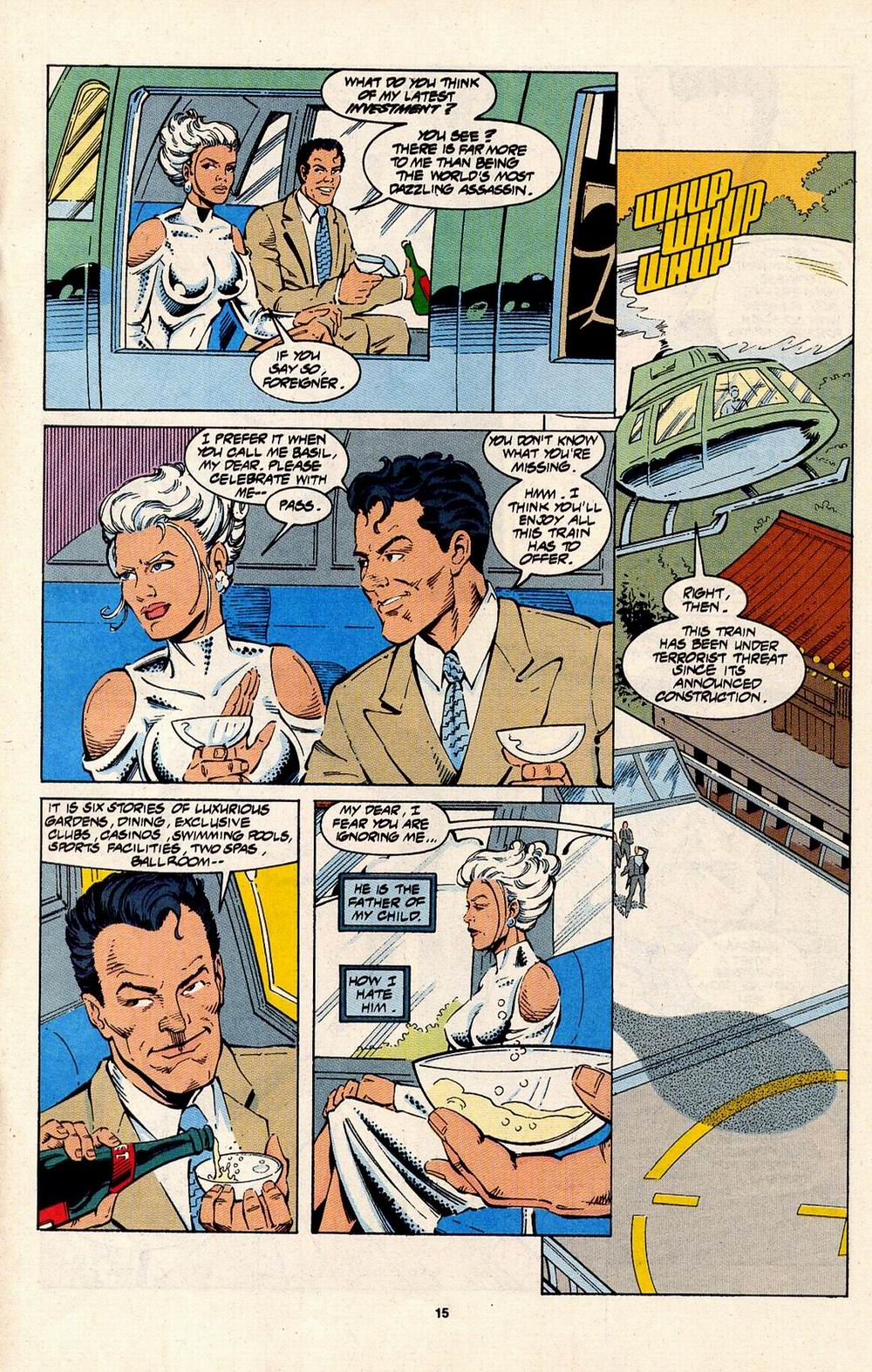 Read online Silver Sable and the Wild Pack comic -  Issue #31 - 12