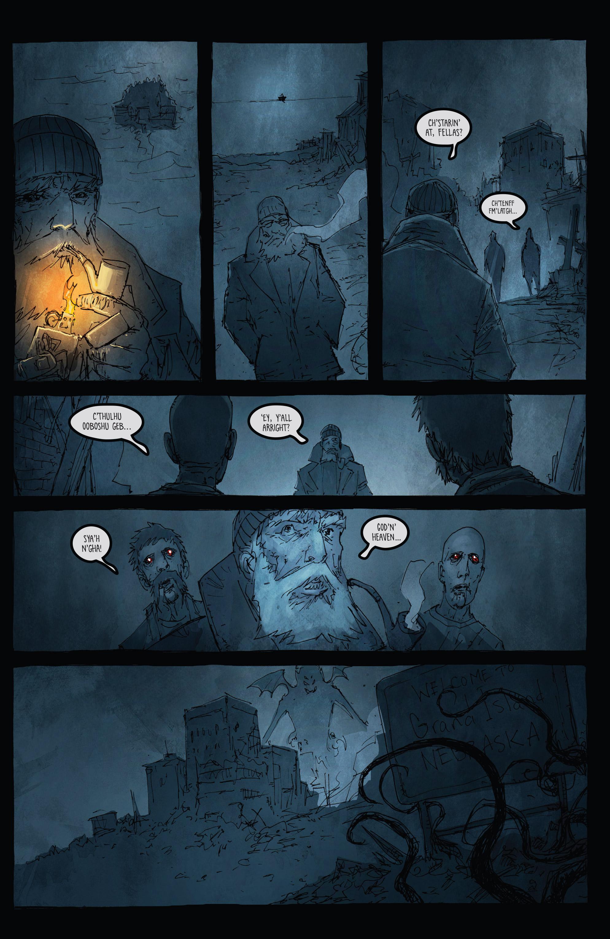 Read online Broken Moon: Legends of the Deep comic -  Issue #5 - 6