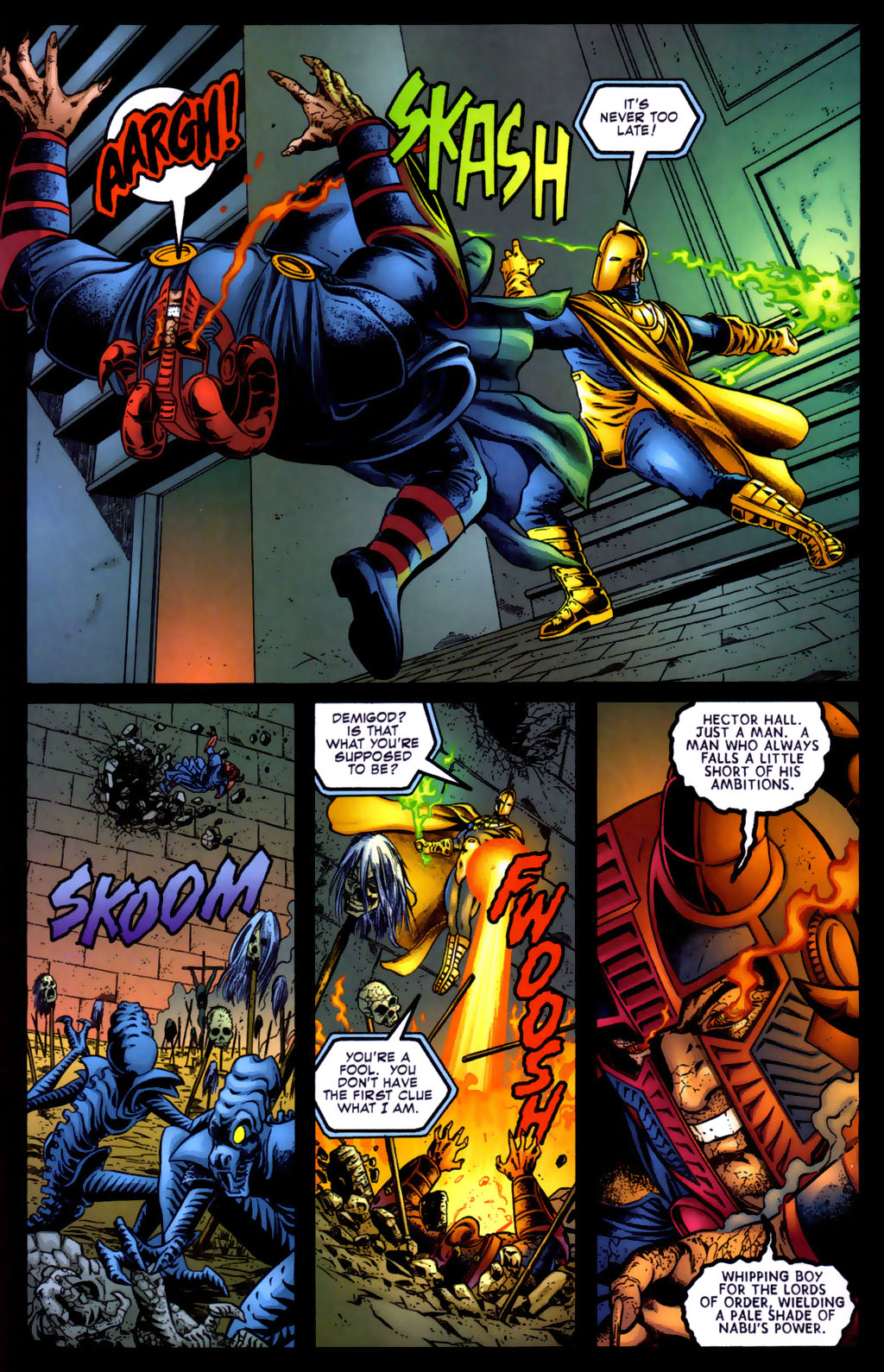 Read online Doctor Fate (2003) comic -  Issue #5 - 14