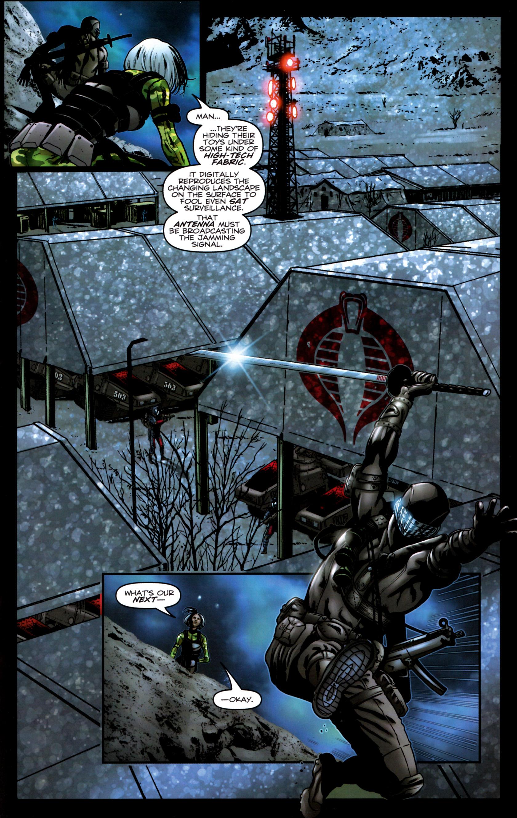 Read online G.I. Joe: Snake Eyes comic -  Issue #9 - 18