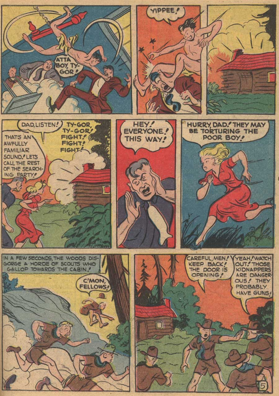 Blue Ribbon Comics (1939) issue 16 - Page 43