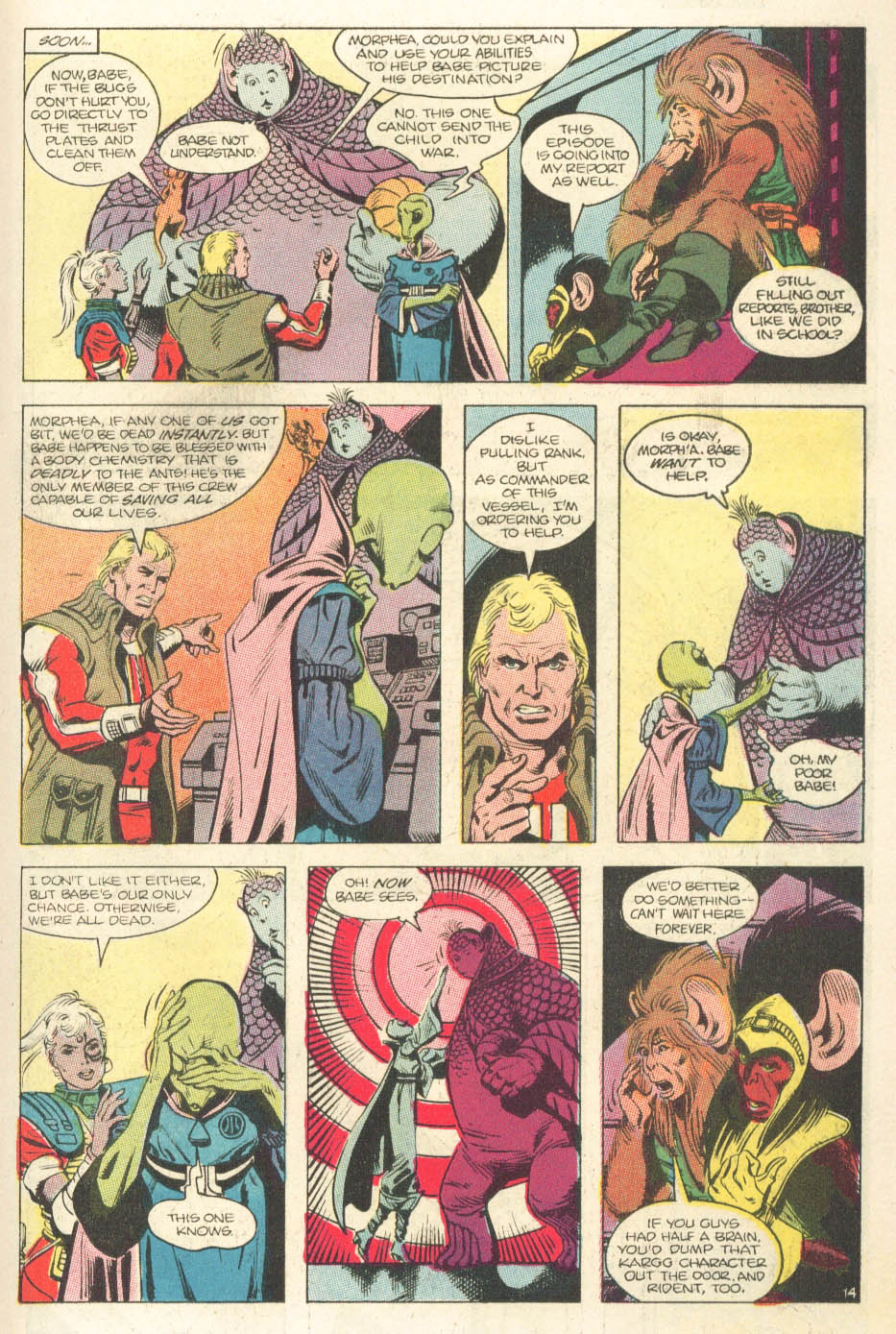 Read online Atari Force (1984) comic -  Issue #15 - 16