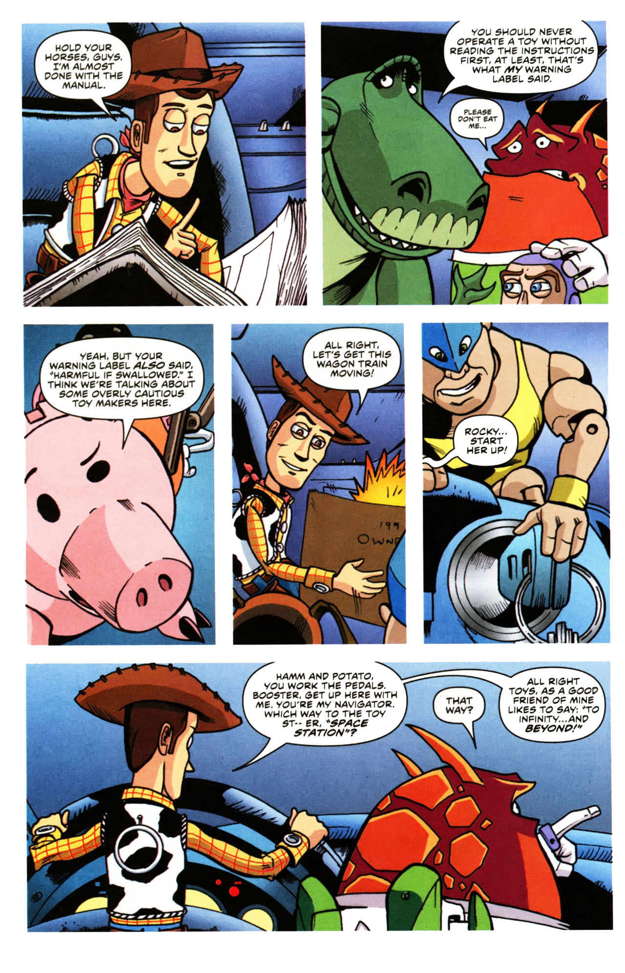 Read online Toy Story (2009) comic -  Issue #1 - 14