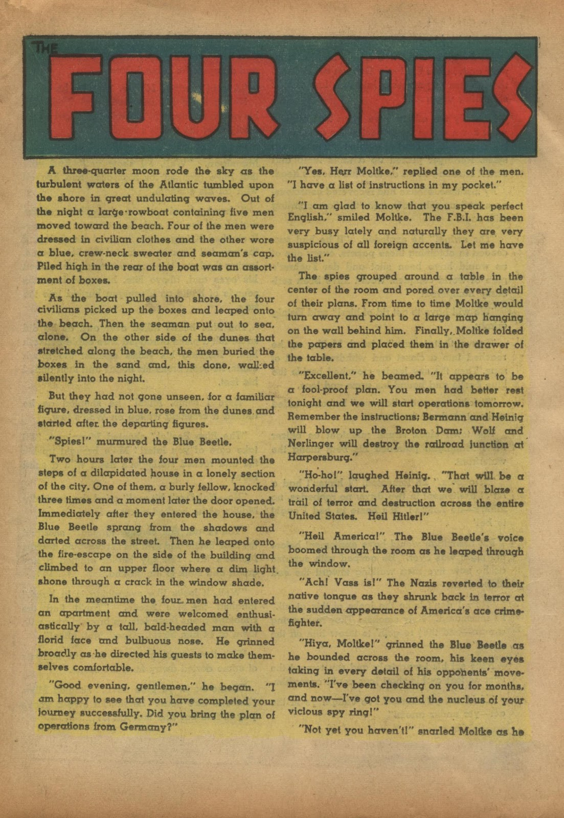 The Blue Beetle issue 15 - Page 35