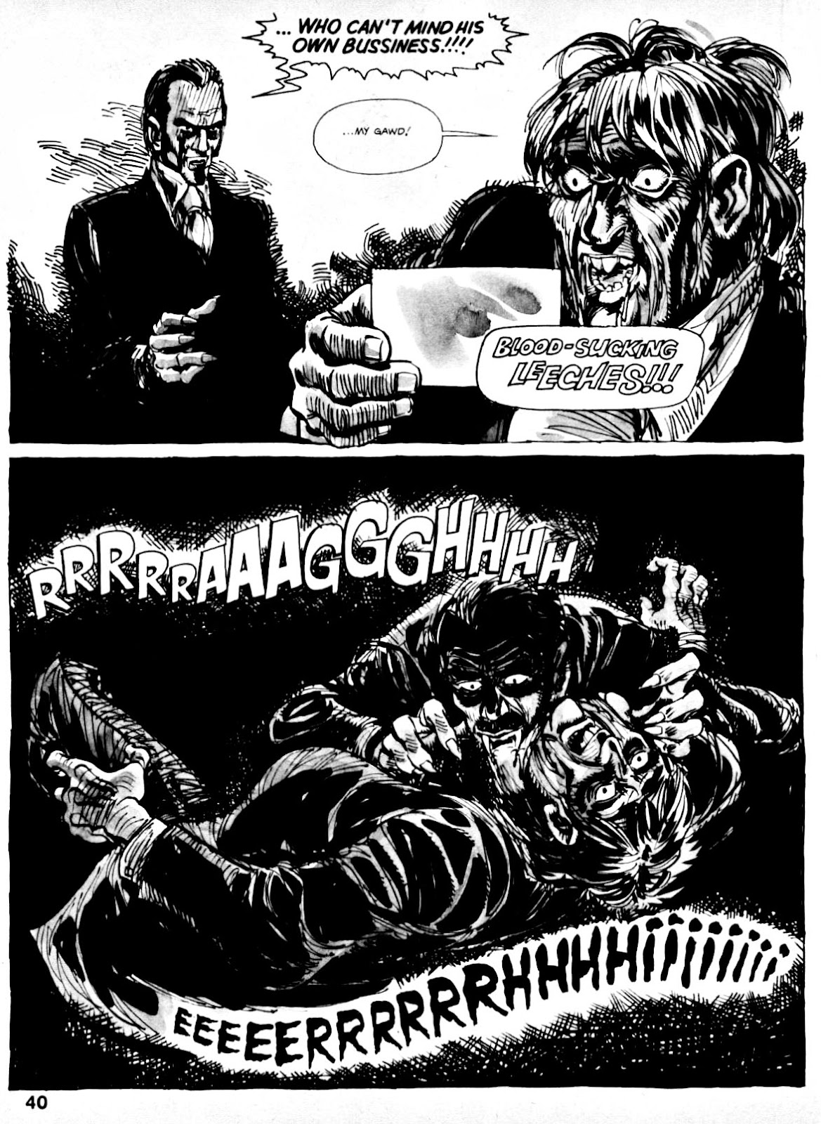 Nightmare (1970) issue 14 - Page 38