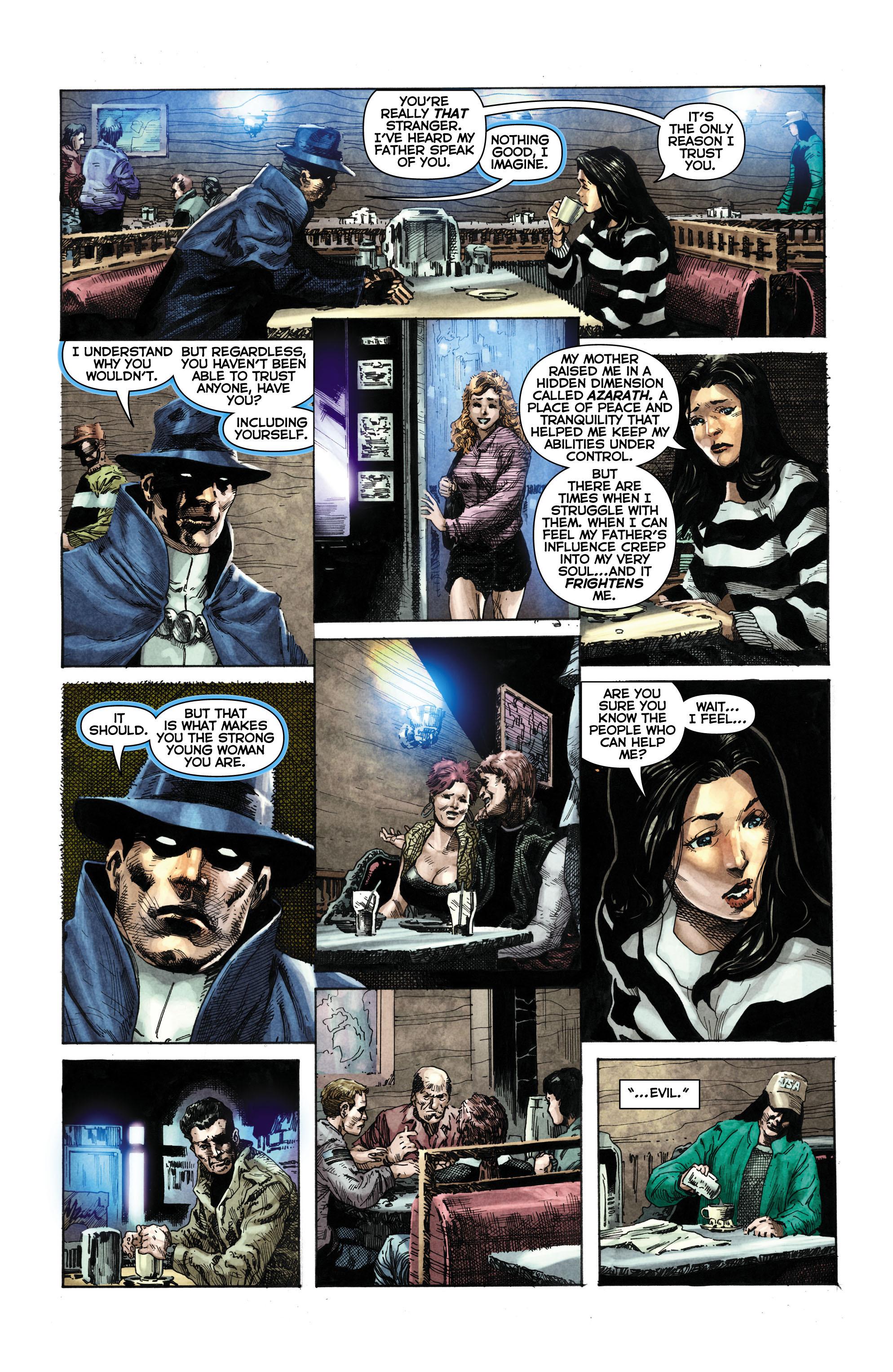 Read online Trinity of Sin: The Phantom Stranger comic -  Issue #1 - 9