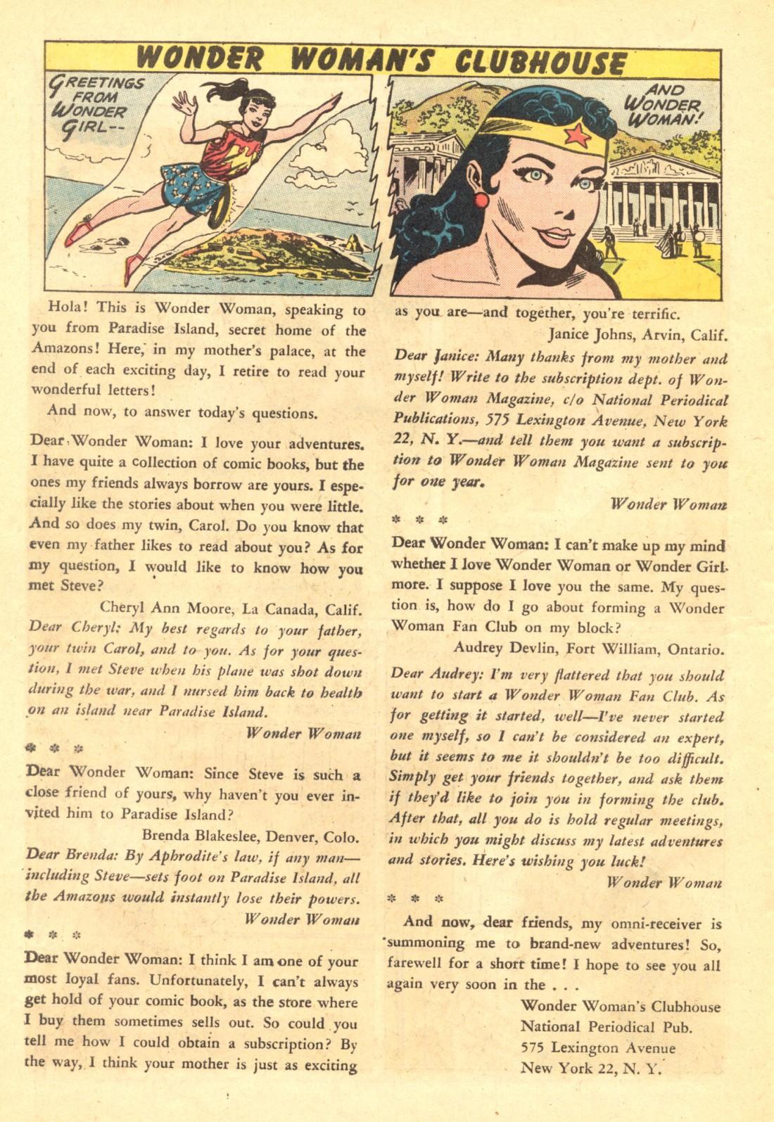 Read online Wonder Woman (1942) comic -  Issue #135 - 22