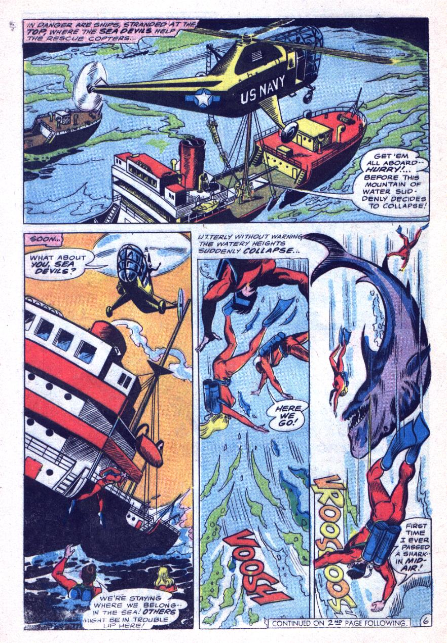 Read online Sea Devils comic -  Issue #31 - 9