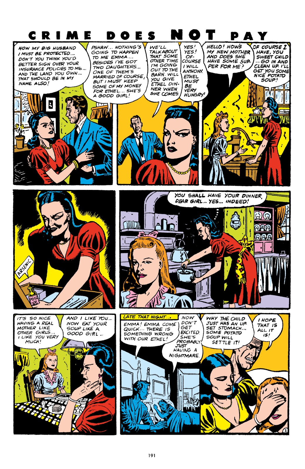 Read online Crime Does Not Pay Archives comic -  Issue # TPB 5 (Part 2) - 91