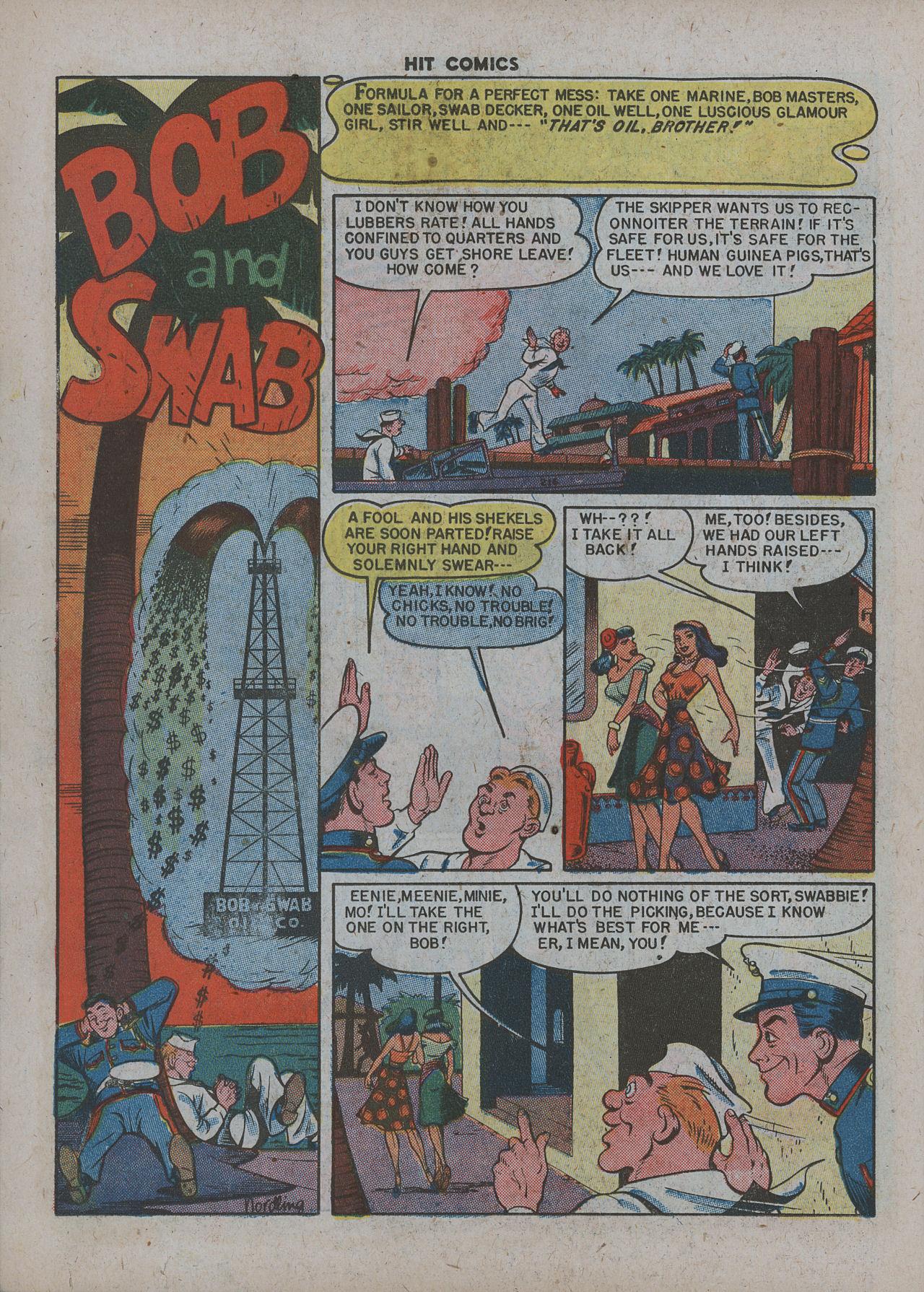 Read online Hit Comics comic -  Issue #63 - 22