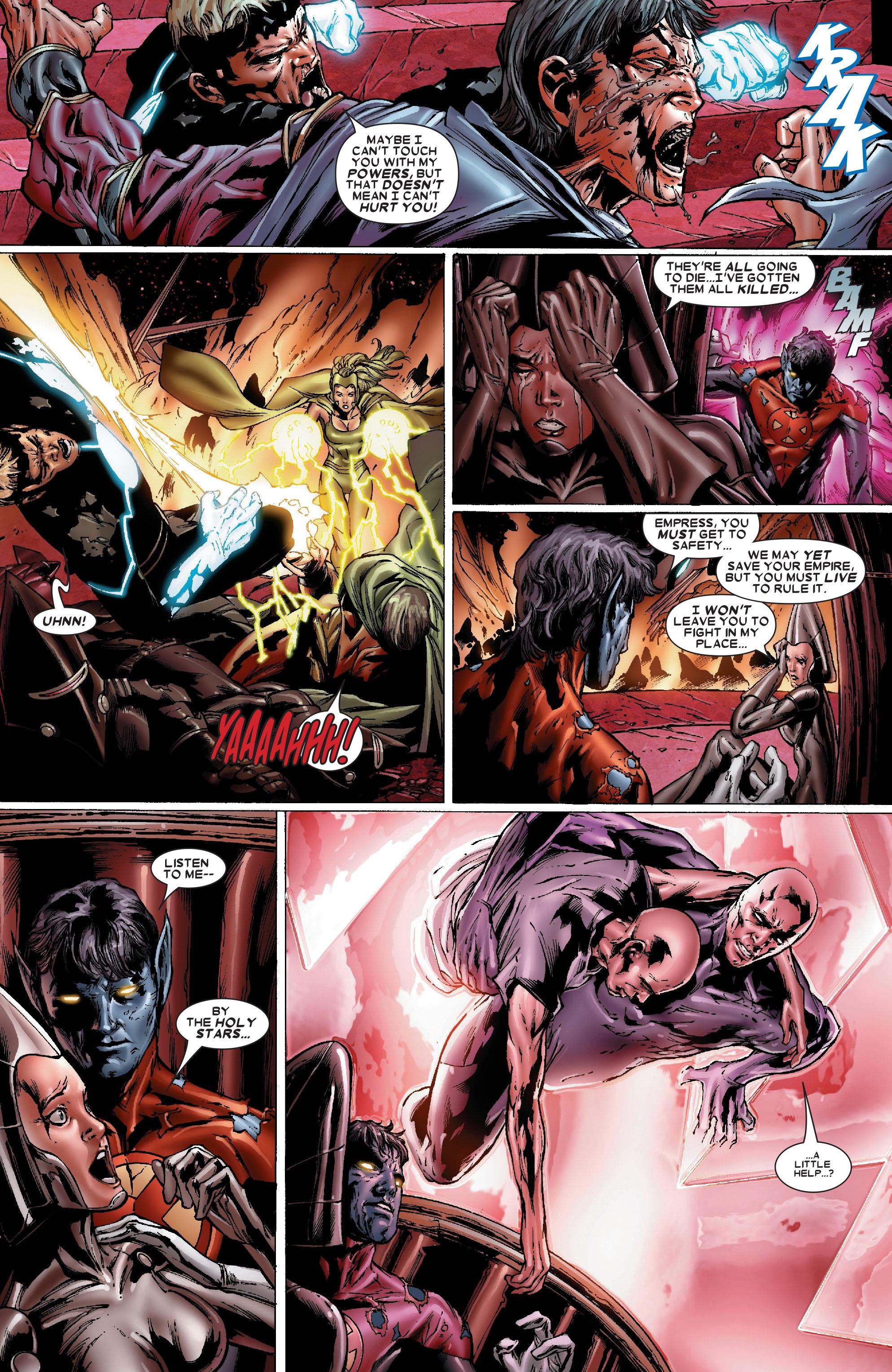 Read online Uncanny X-Men (1963) comic -  Issue #486 - 12