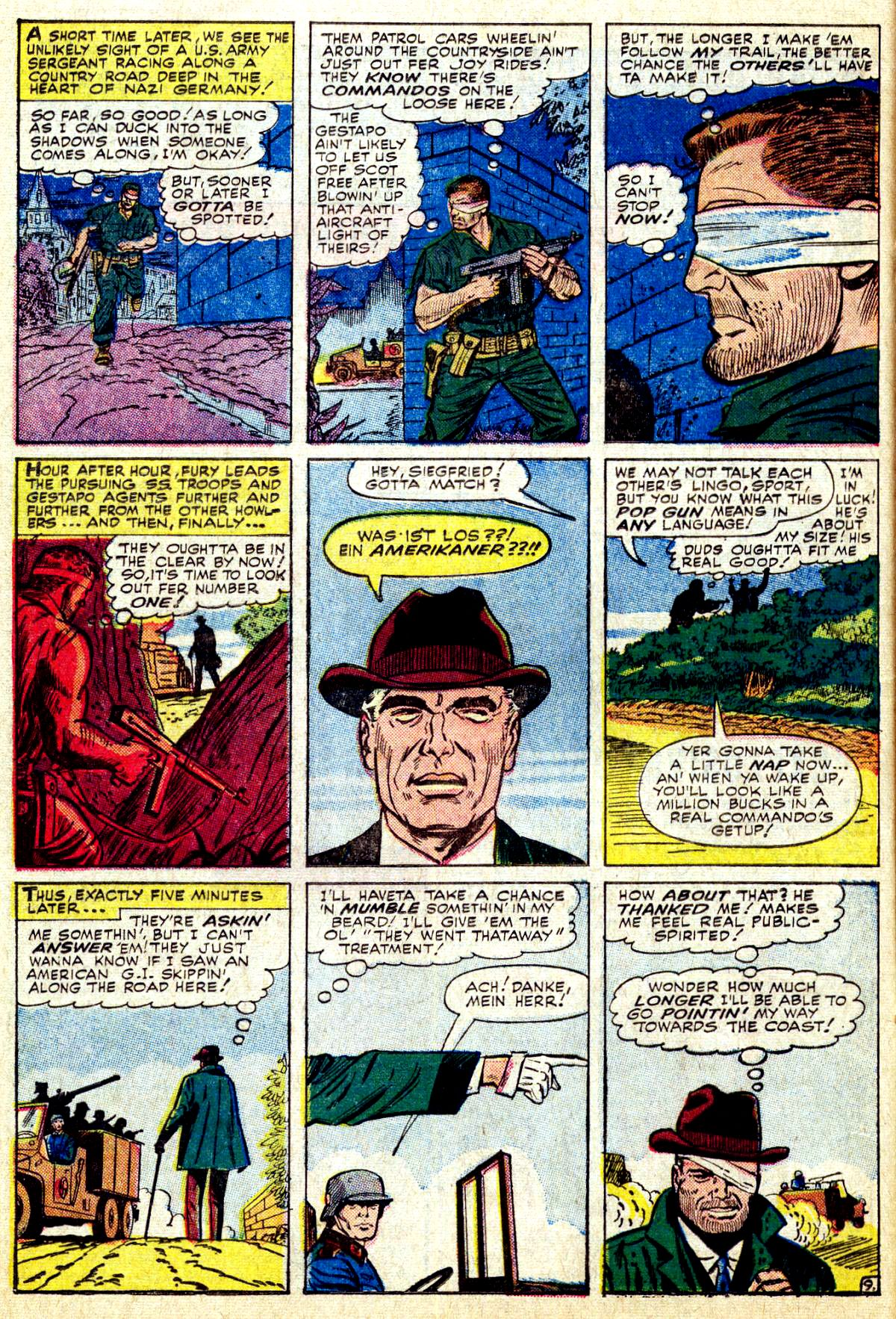 Read online Sgt. Fury comic -  Issue #27 - 14