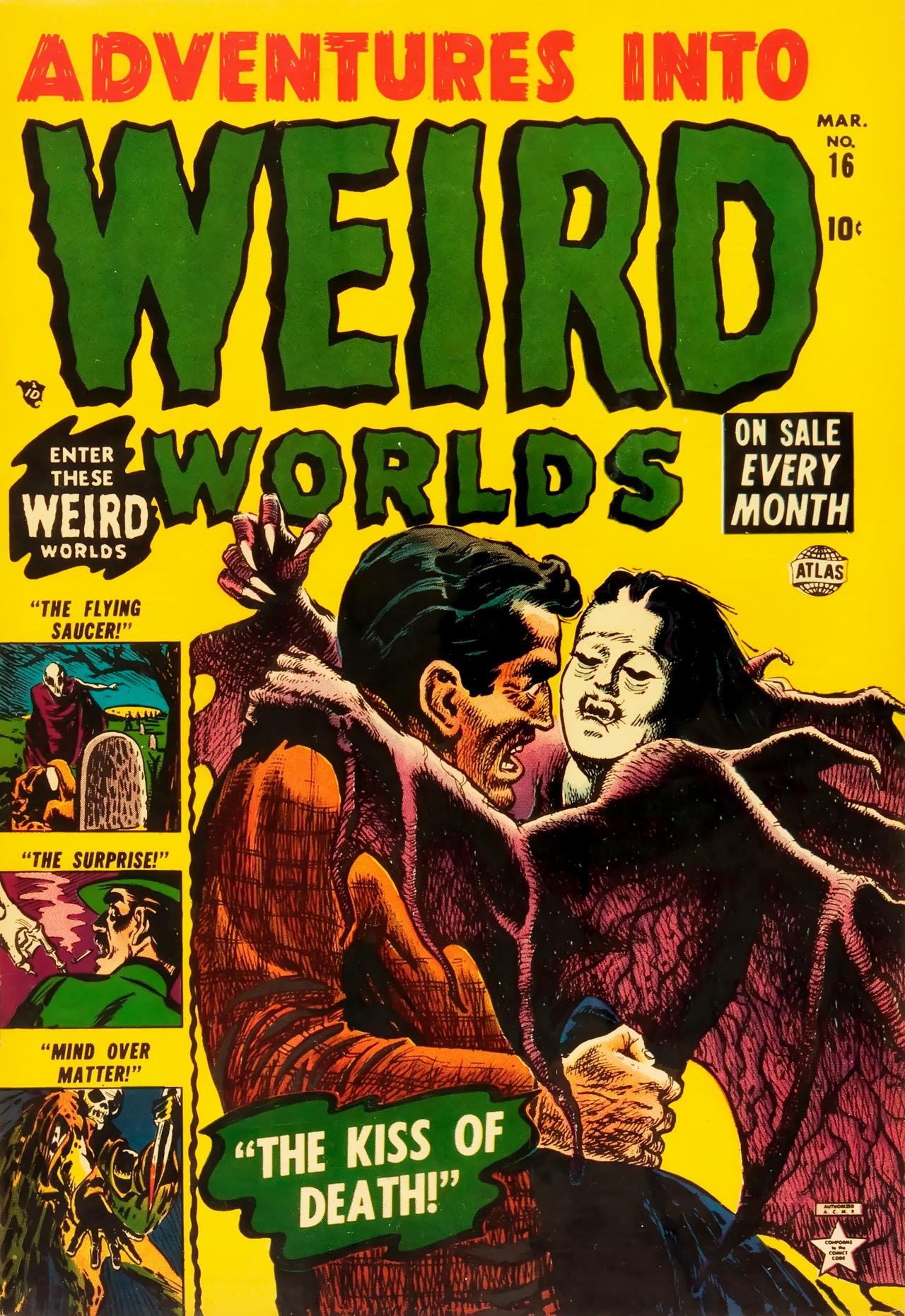 Adventures into Weird Worlds 16 Page 1