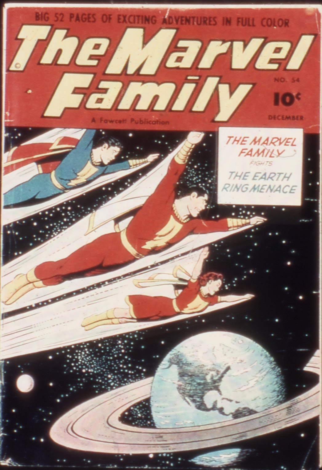 The Marvel Family 54 Page 1
