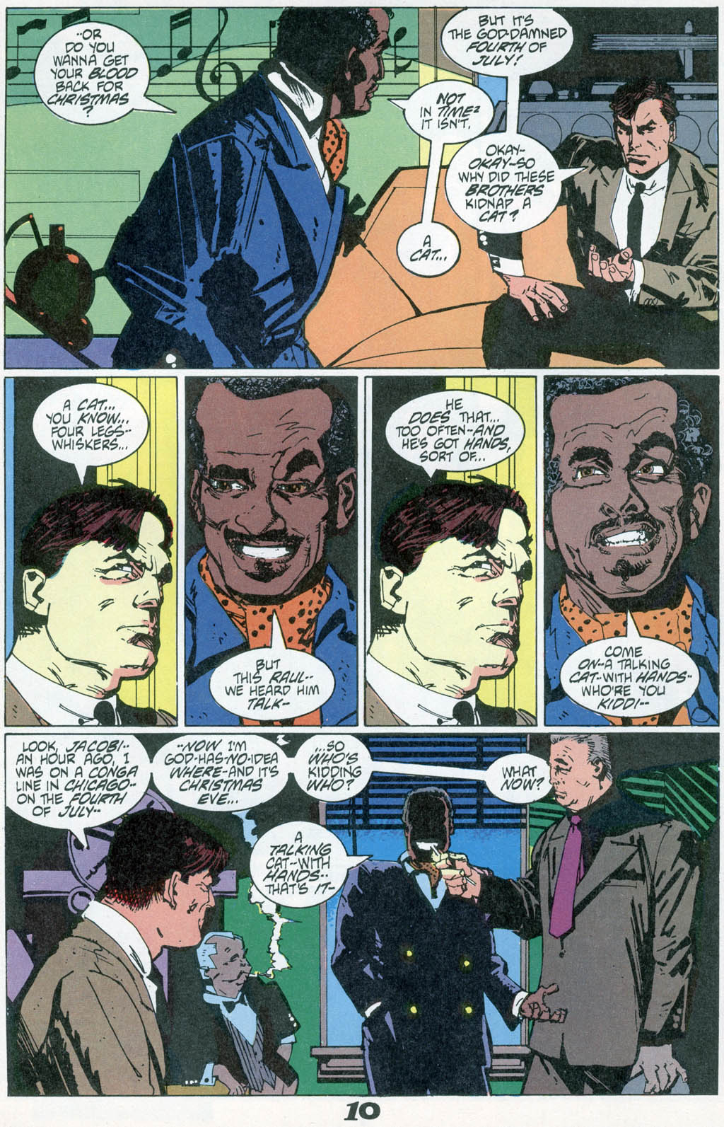 Read online American Flagg! comic -  Issue # _Special 1 - 12