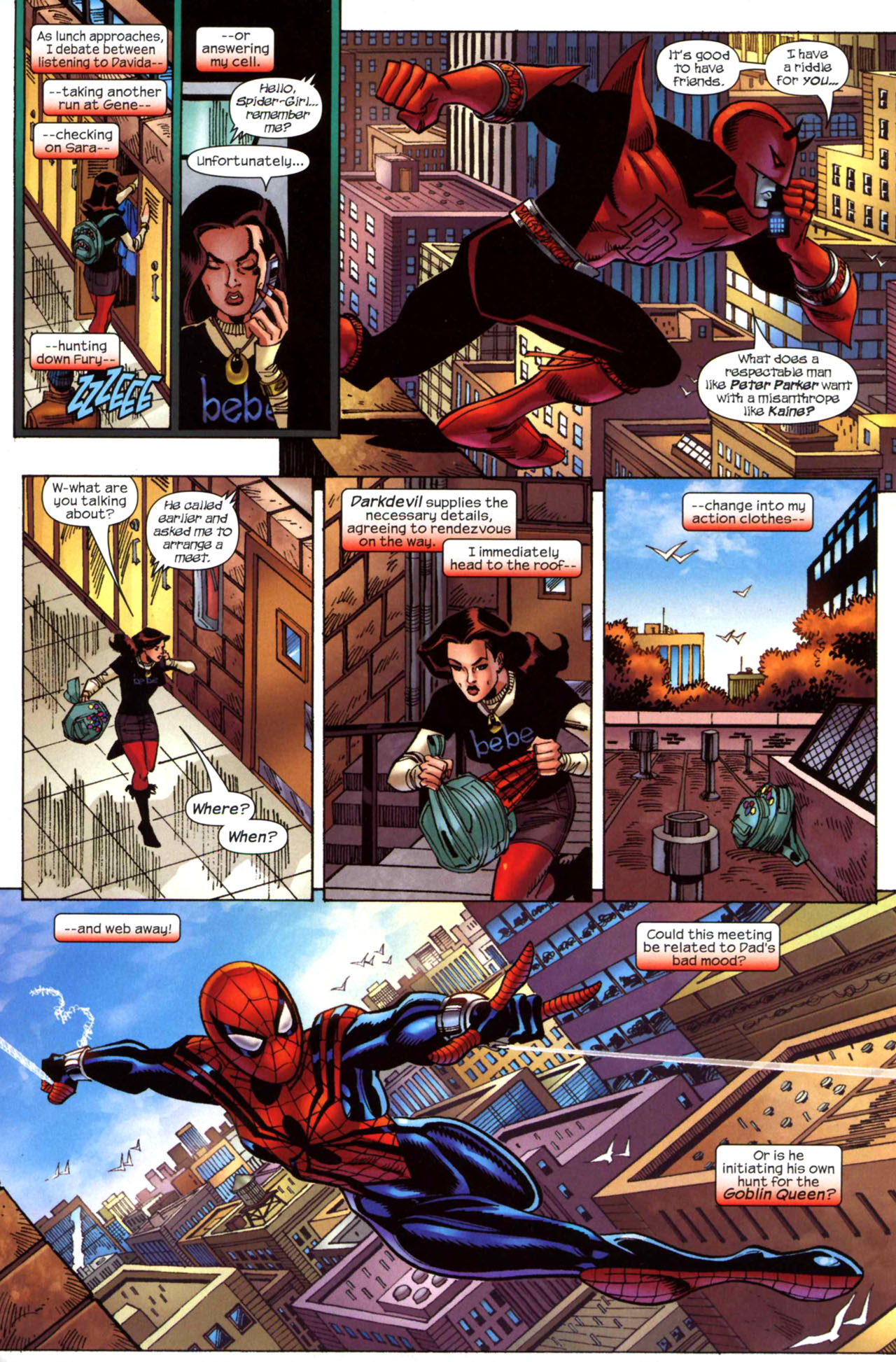 Read online Amazing Spider-Girl comic -  Issue #23 - 12
