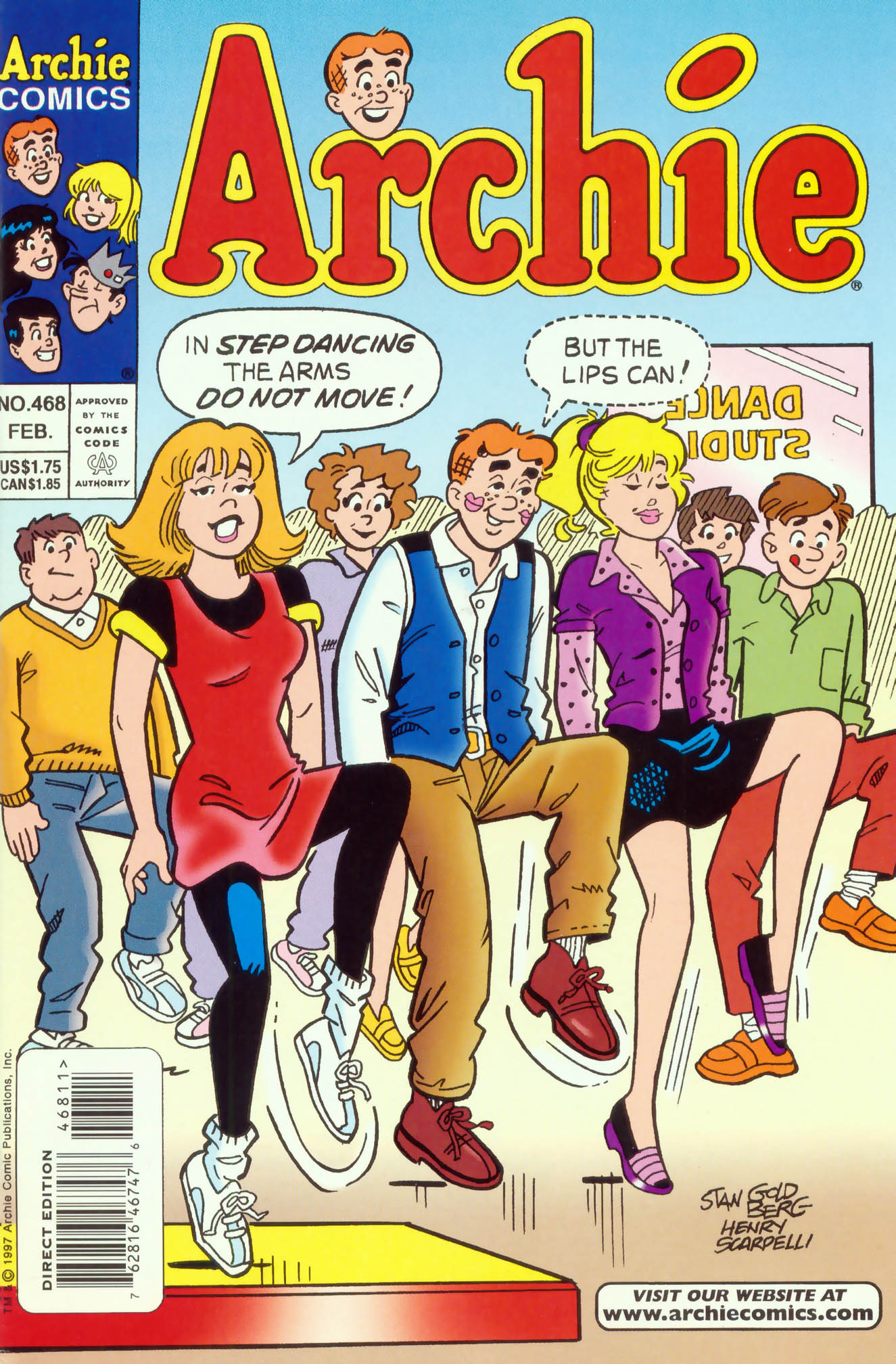 Read online Archie (1960) comic -  Issue #468 - 1