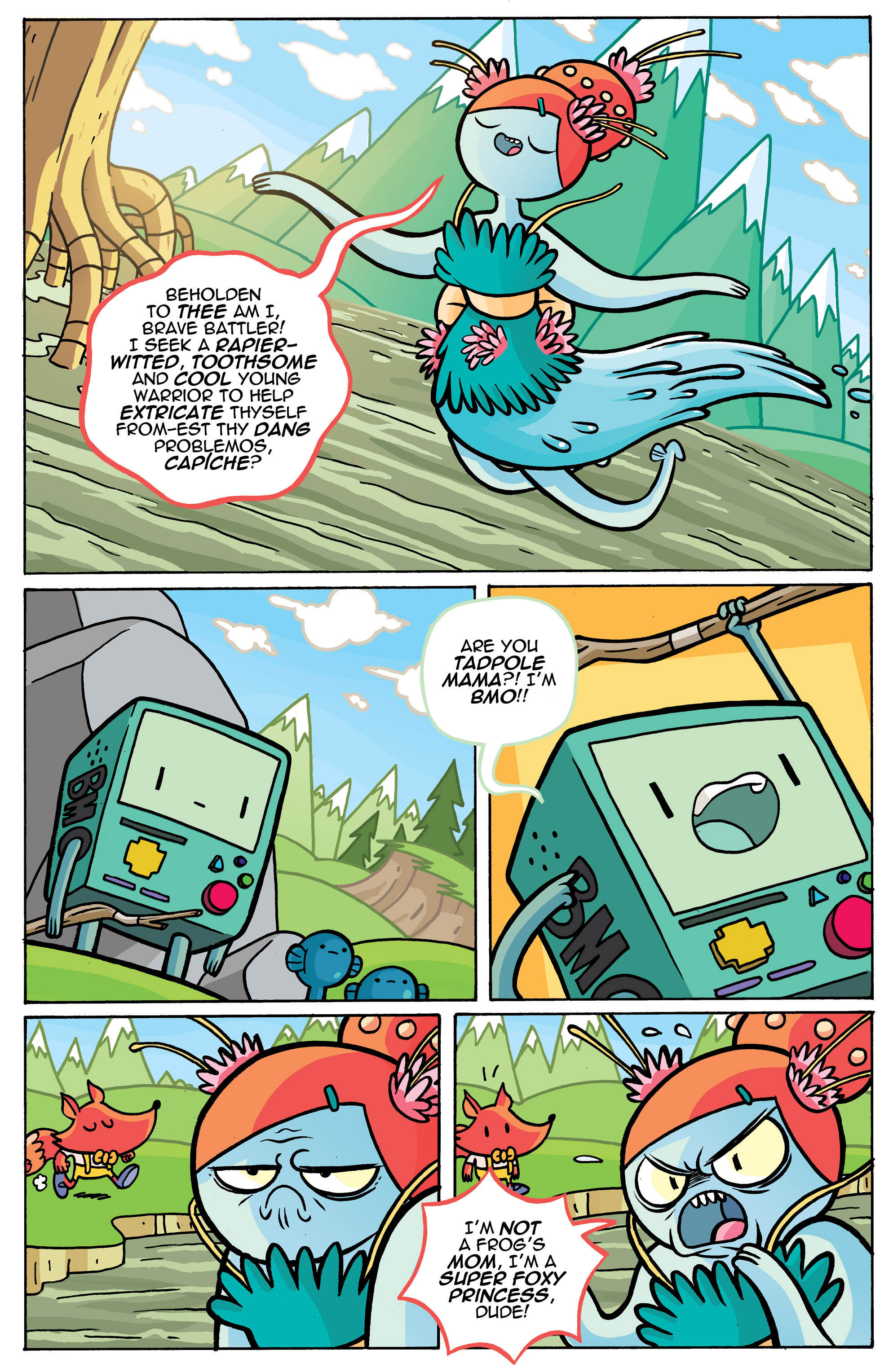Read online Adventure Time comic -  Issue #42 - 21