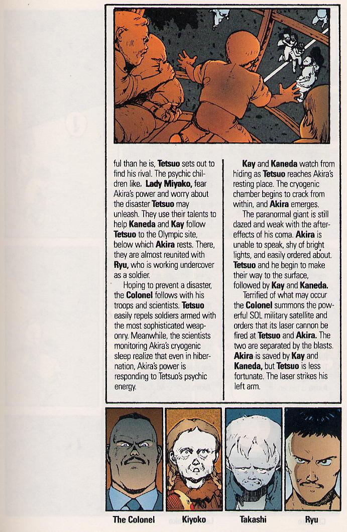 Read online Akira comic -  Issue #15 - 6