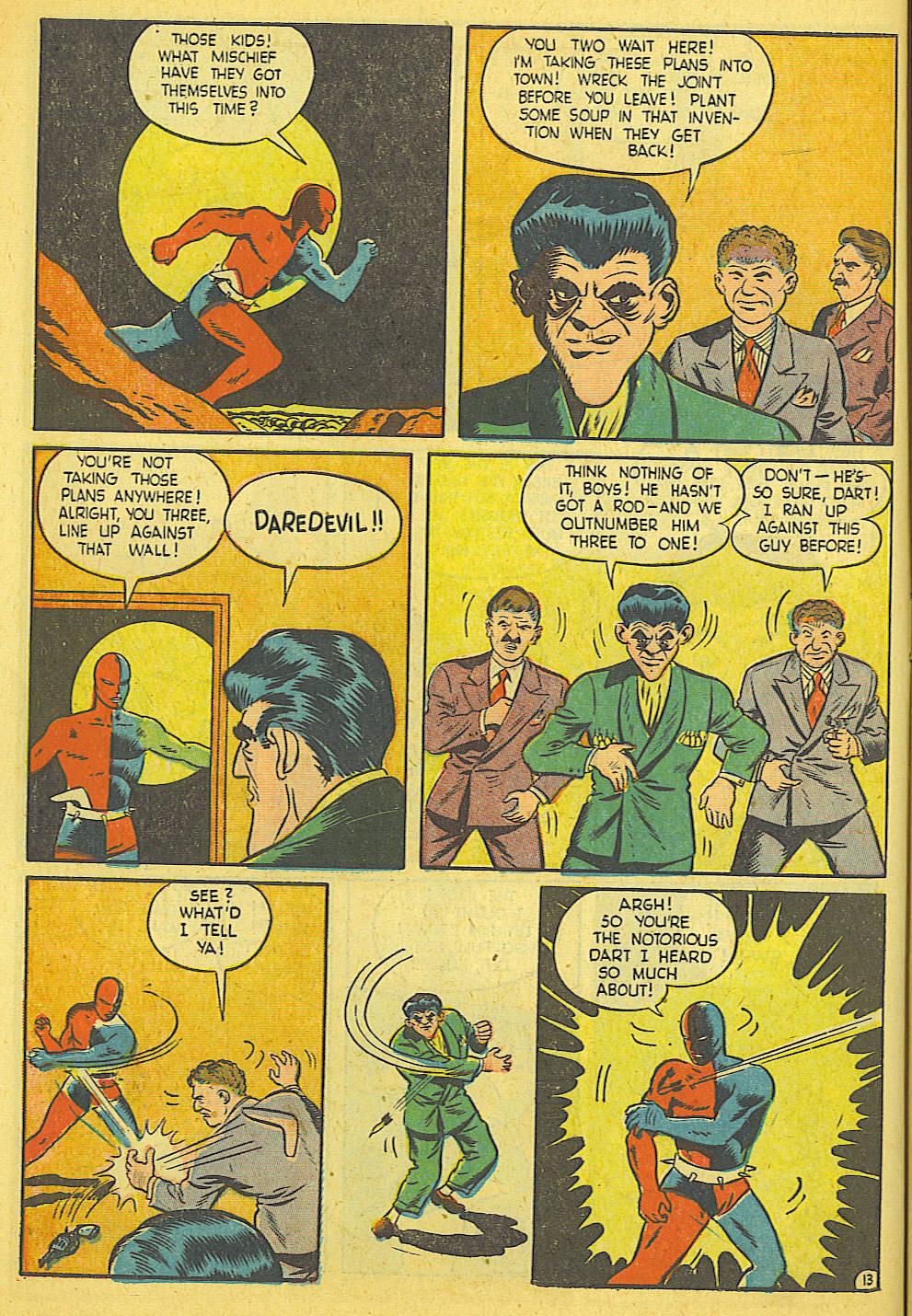 Daredevil (1941) issue 21 - Page 14